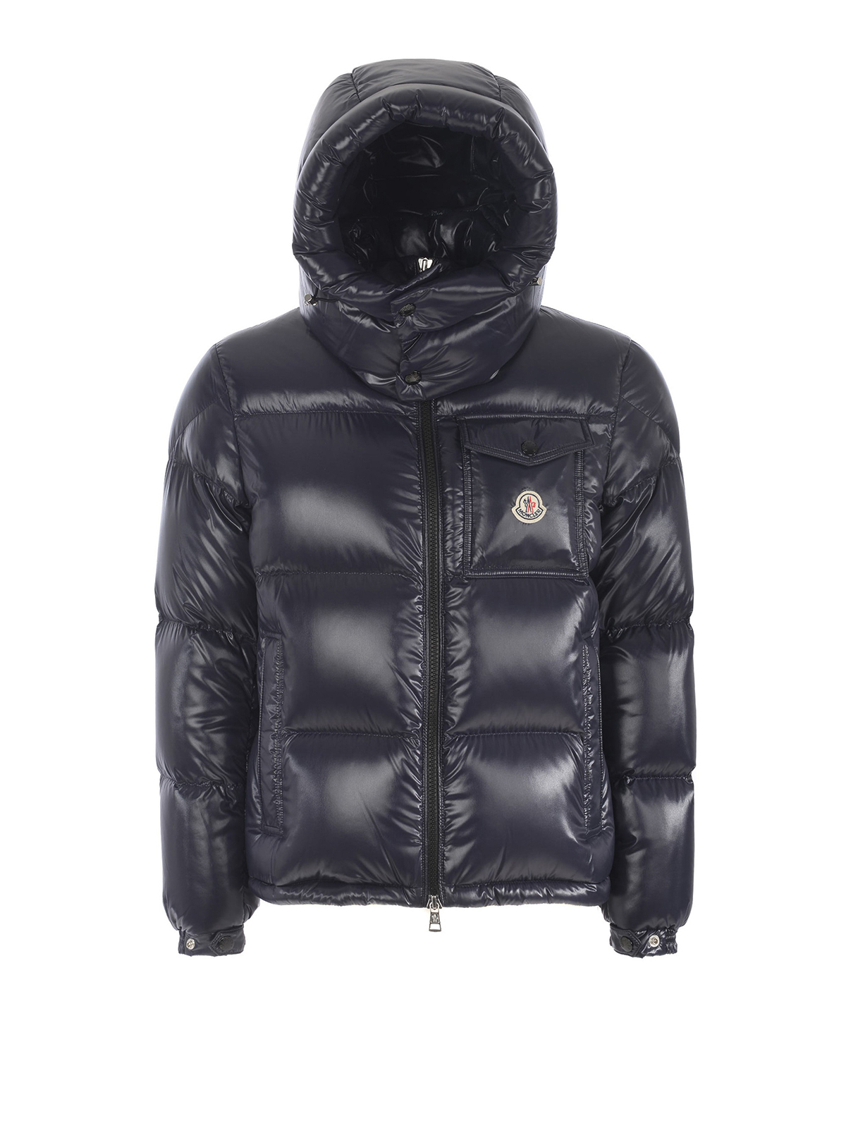 58547911e9d0 Moncler - Montbeliard nylon lacquer puffer jacket - padded jackets ...