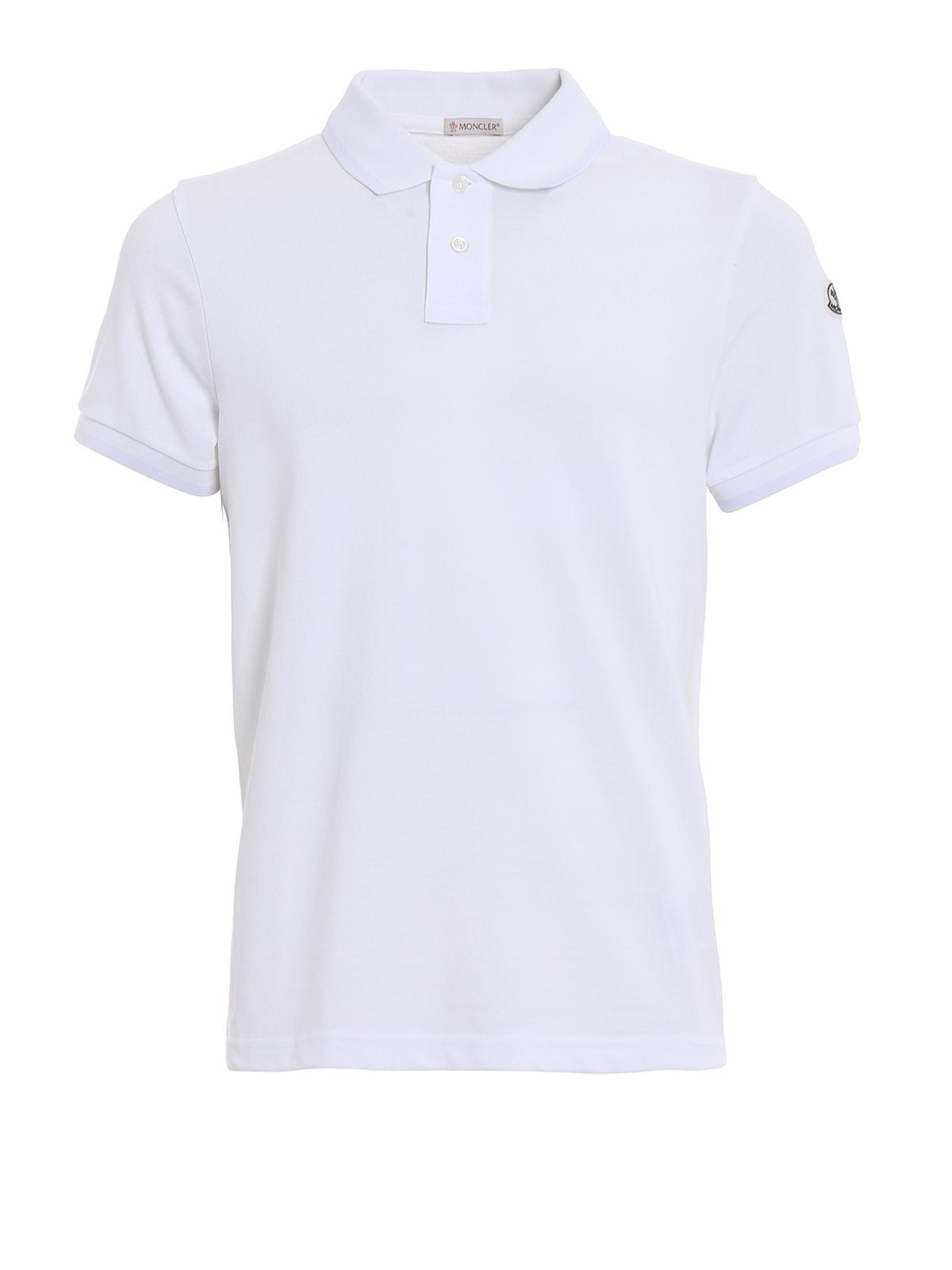Moncler - Polo - Blanc - Polos - D10918304684556 001   iKRIX.com 17a7543a076