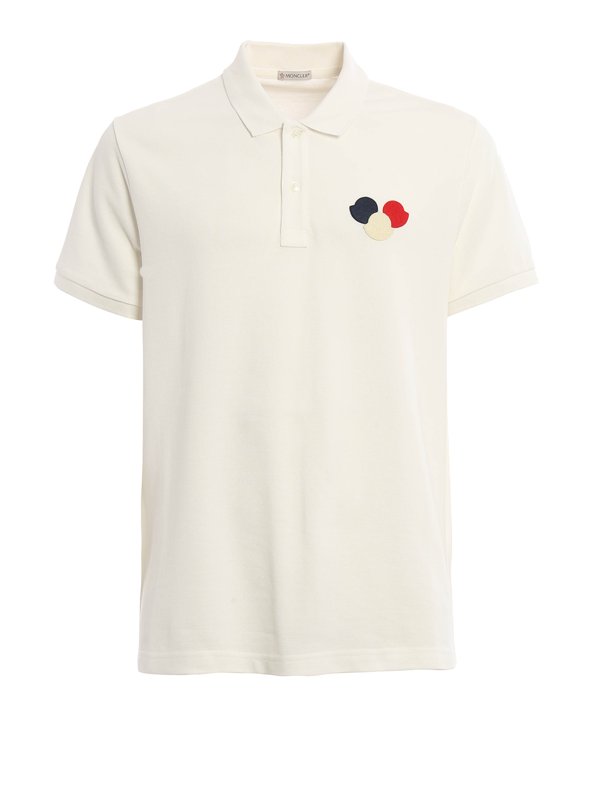 moncler logo patch cotton pique polo shirt polo shirts c1 091 8318800 84556 004. Black Bedroom Furniture Sets. Home Design Ideas