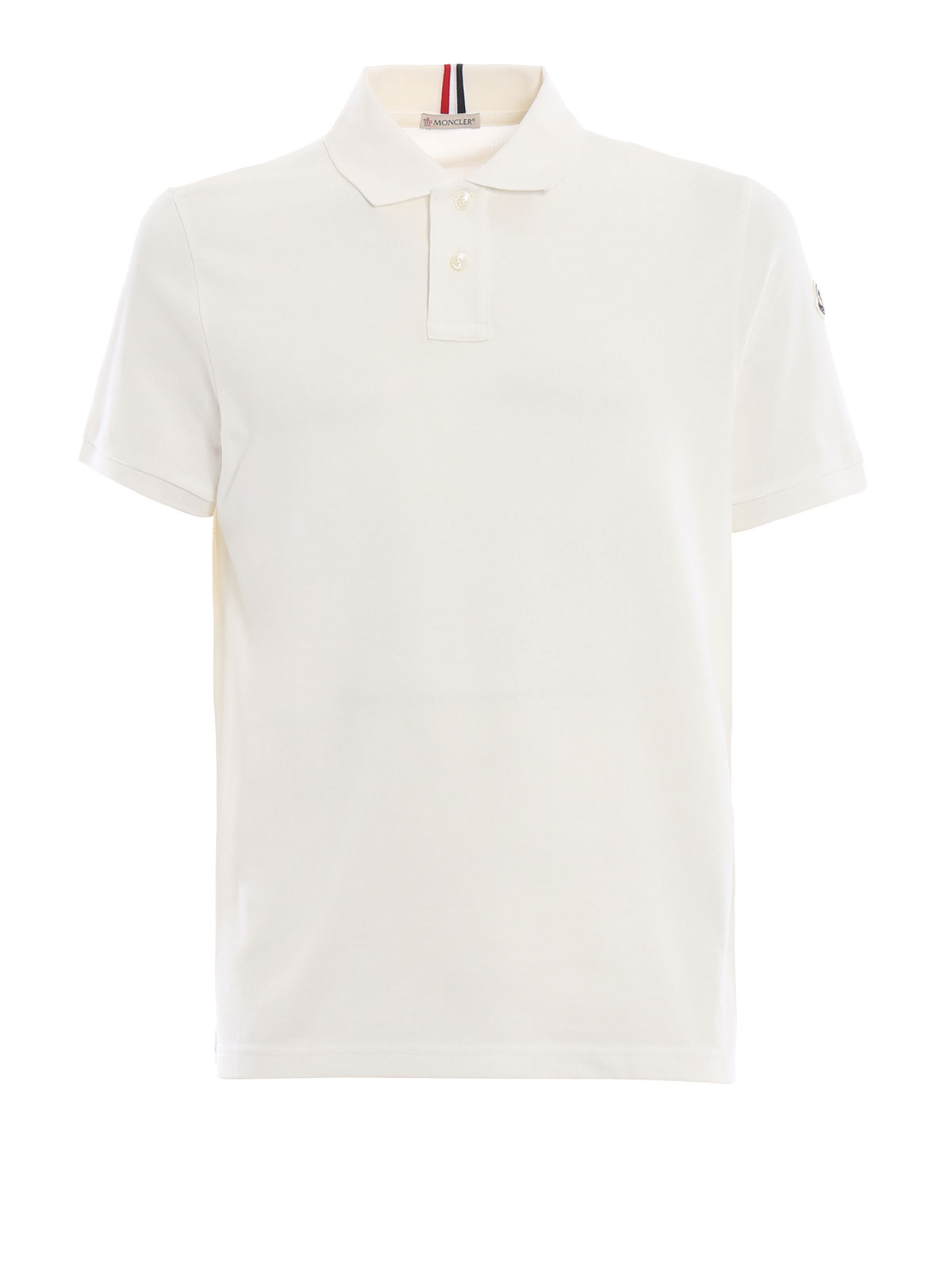 Moncler - Polo - Blanc - Polos - D2 091 8306200 84556 004   iKRIX.com 08ad64451e0