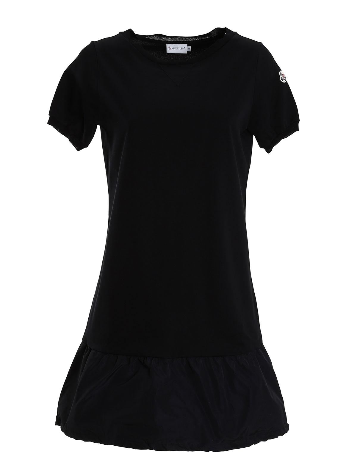 moncler black dress