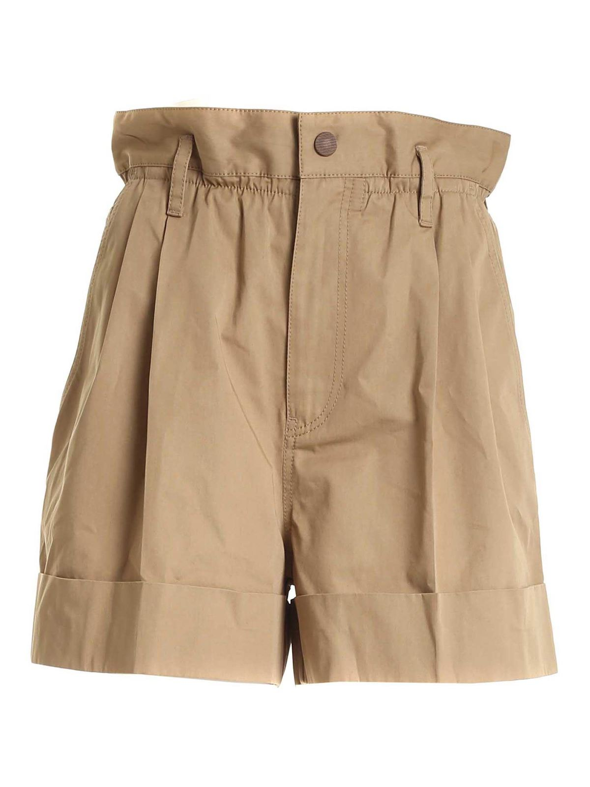 Moncler TURNED-UP HEM SHORTS