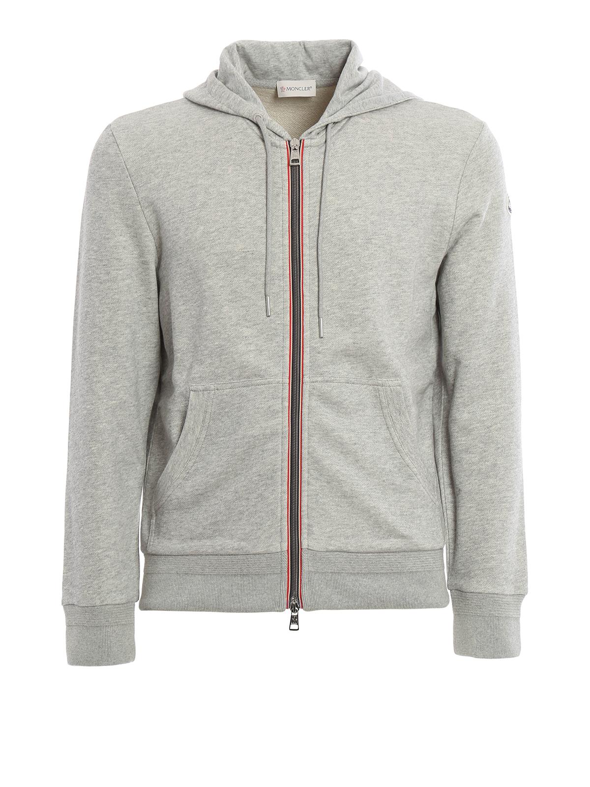 Cotton zip hoodie