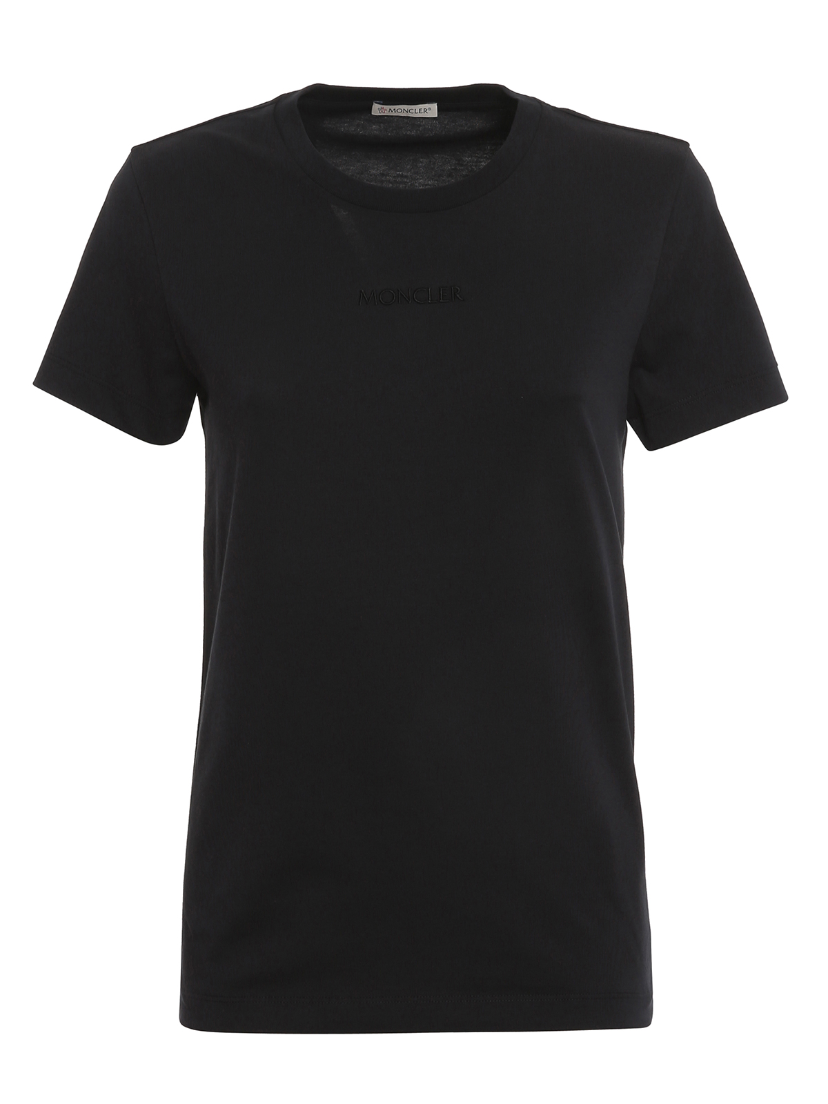 Moncler Cottons EMBROIDERED T-SHIRT