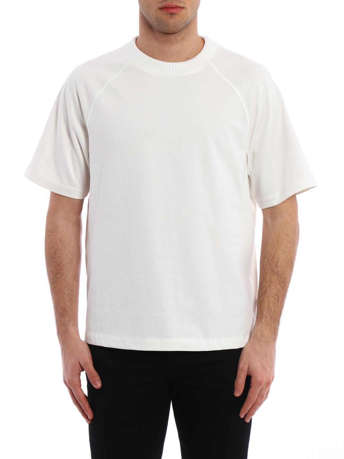 T shirt off white a manica corta moncler t shirt ikrix for Off white moncler t shirt