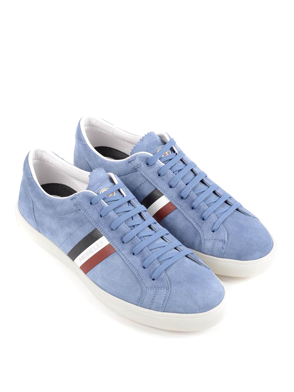 Moncler - La Monaco suede sneakers - trainers