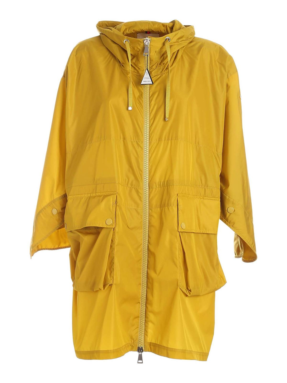 Moncler PRINTSEPS RAINCOAT IN YELLOW