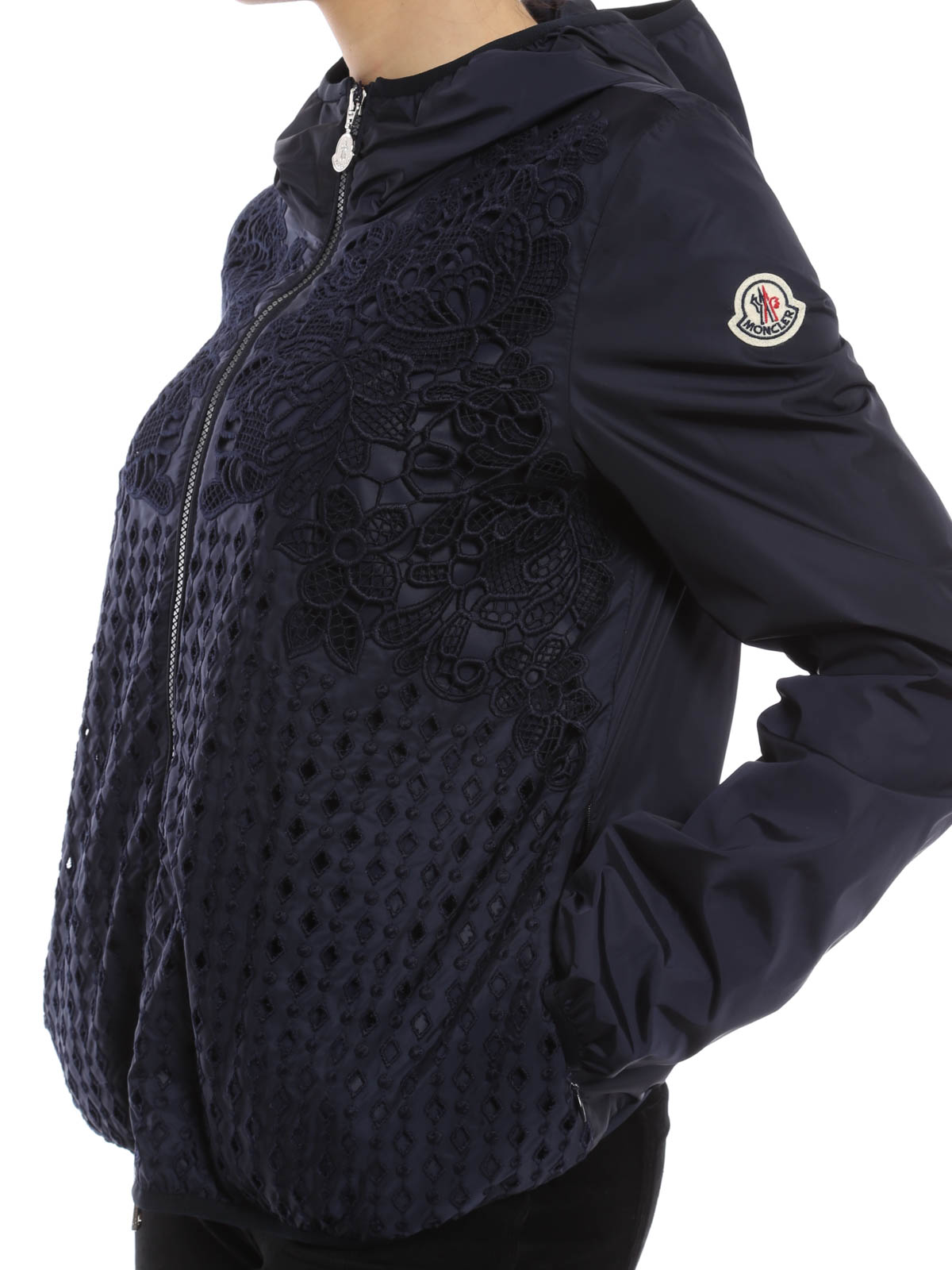 moncler vive jacket black