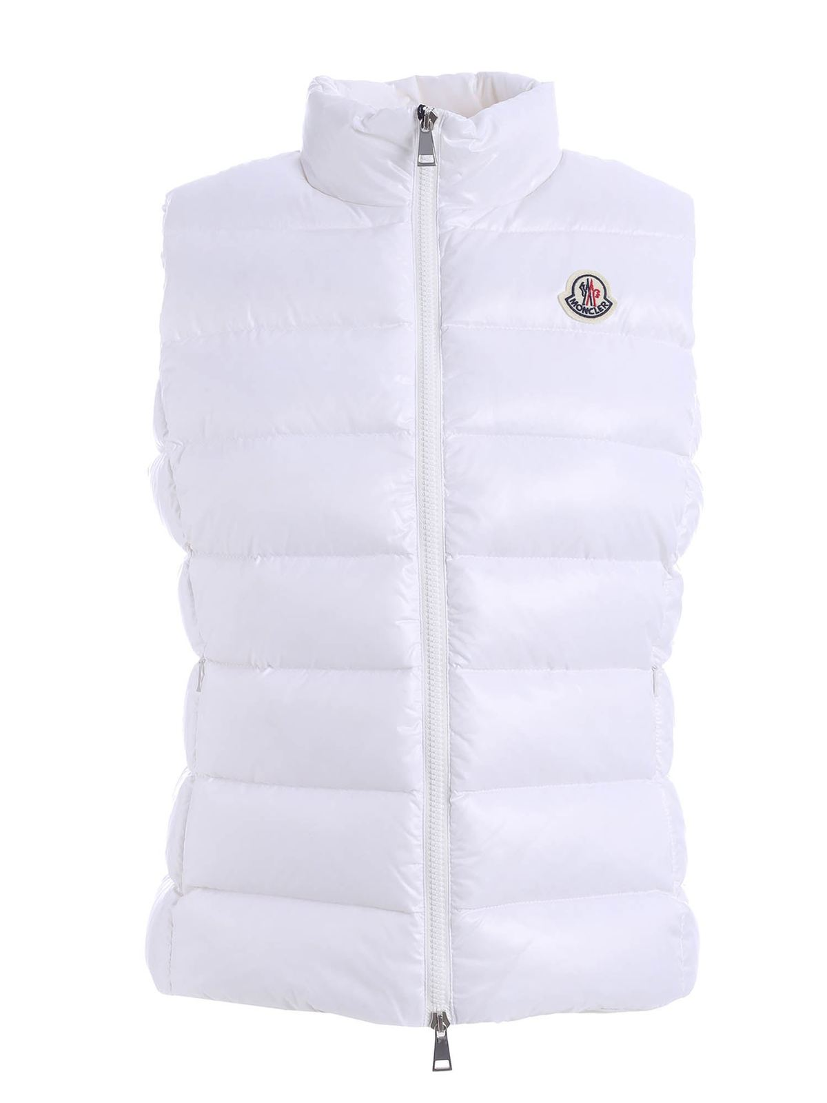 Moncler GHANY WAISTCOAT IN WHITE