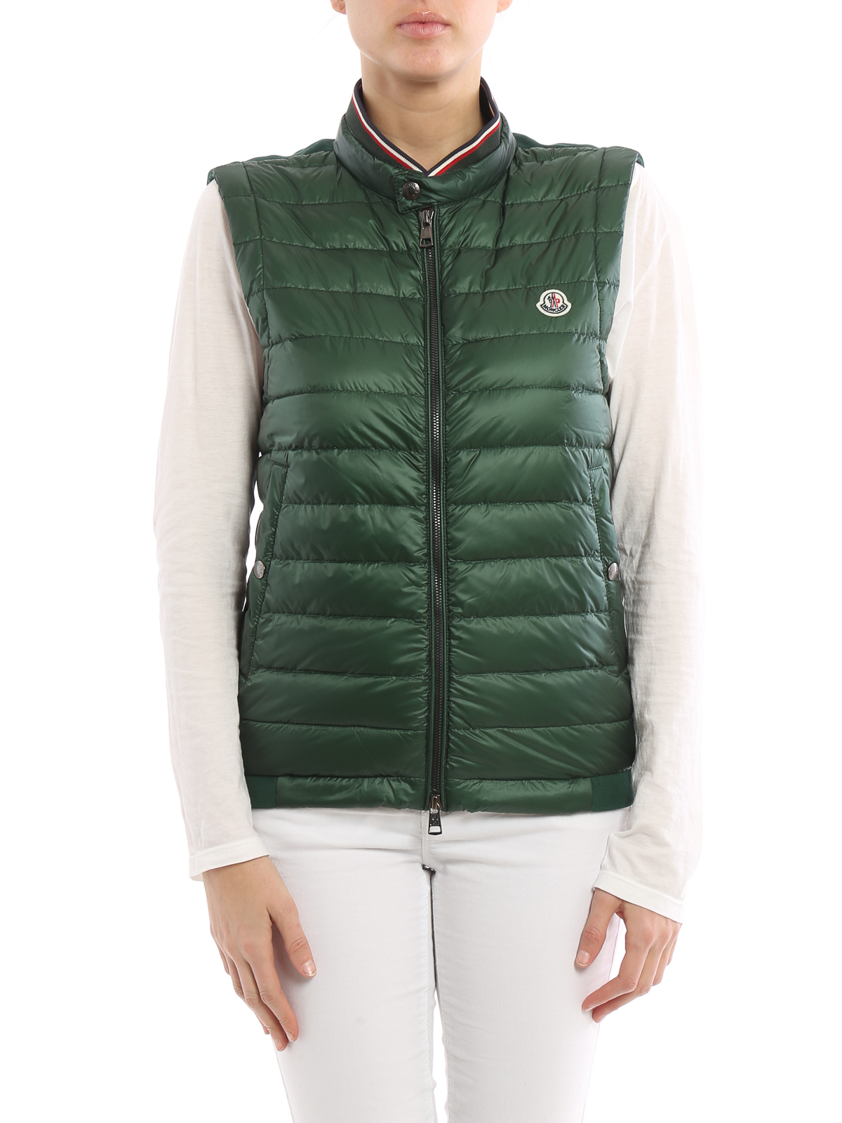 zipped padded gilet - Green Moncler Footaction Cheap Price Buy Cheap Best Place Free Shipping 2018 New Footlocker For Sale Cheap Price Outlet dPMc9i
