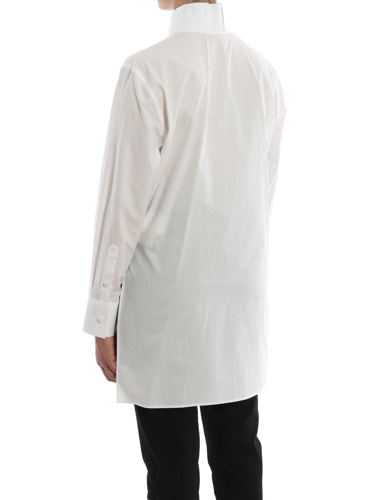 new concept b15f8 23a68 Fendi - Camicia elegante in popeline con cifre - camicie ...