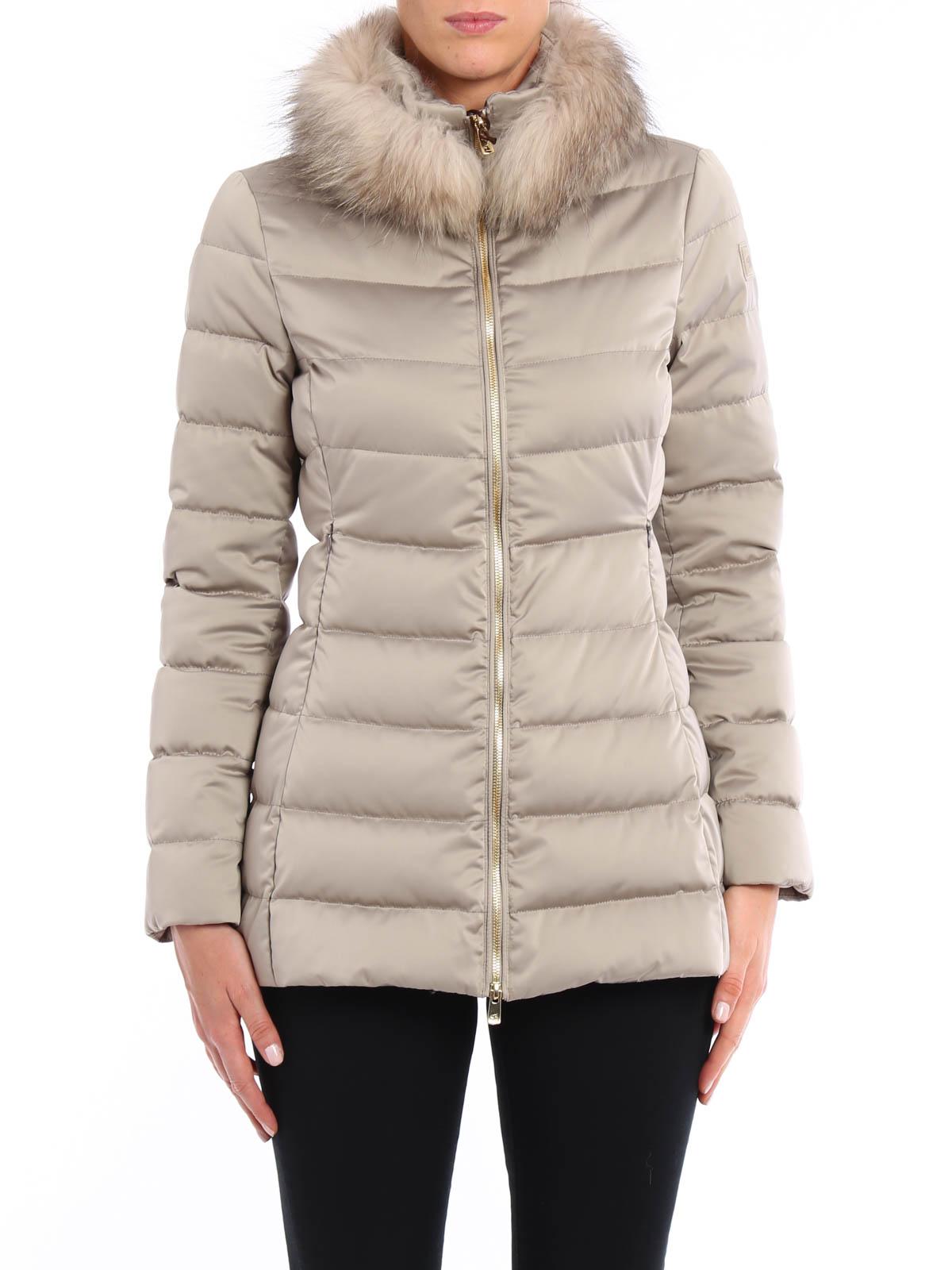new product f98b0 3ae3f Montecore - Piumino trapuntato con pelliccia - giacche ...