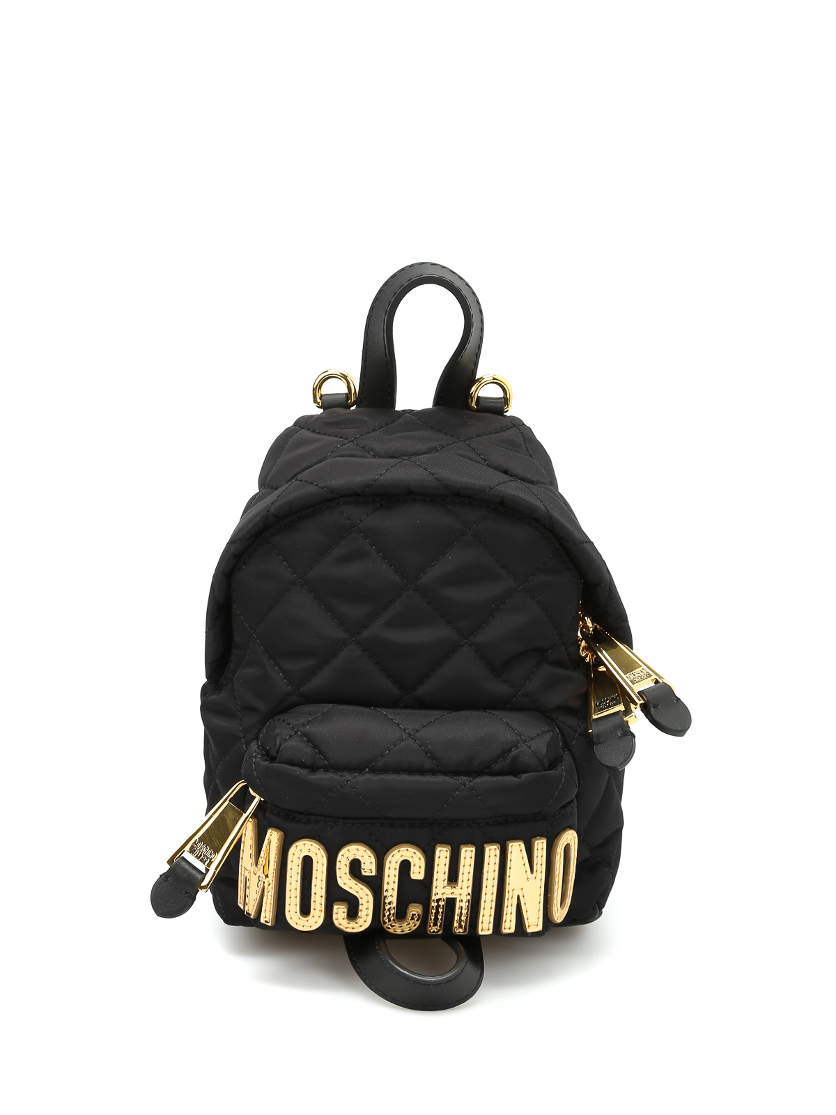 ab3621aa49e Moschino - Logo lettering small backpack - backpacks - B7609 8201 2555
