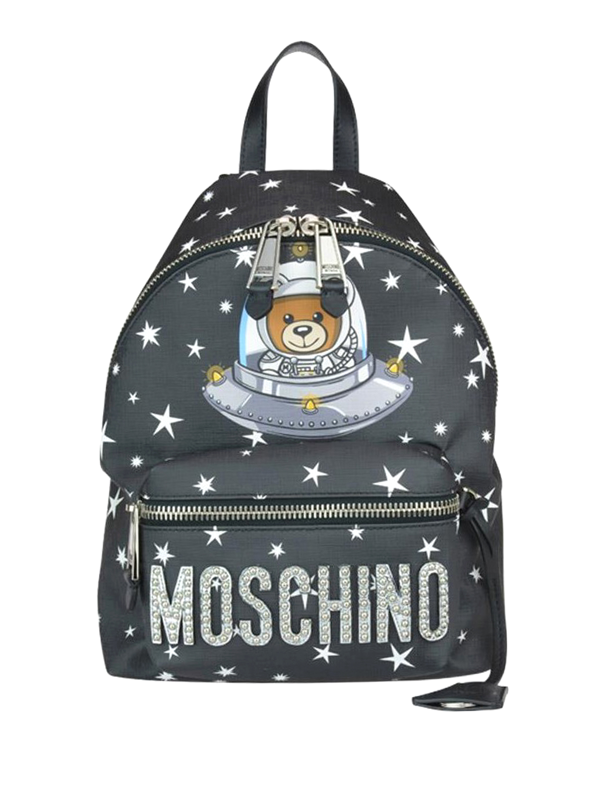 d7498002f363 Moschino - Space Teddy Bear black small backpack - backpacks ...