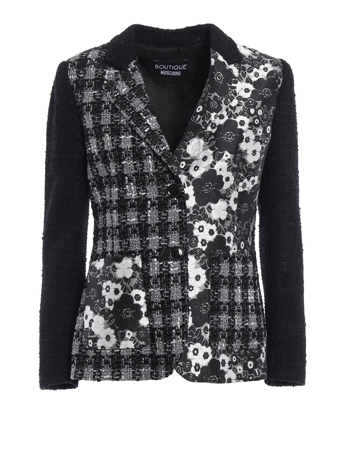 Donna Giacca Moschino Giacca Giacca Tweed Tweed Moschino Donna nNPk80wXO