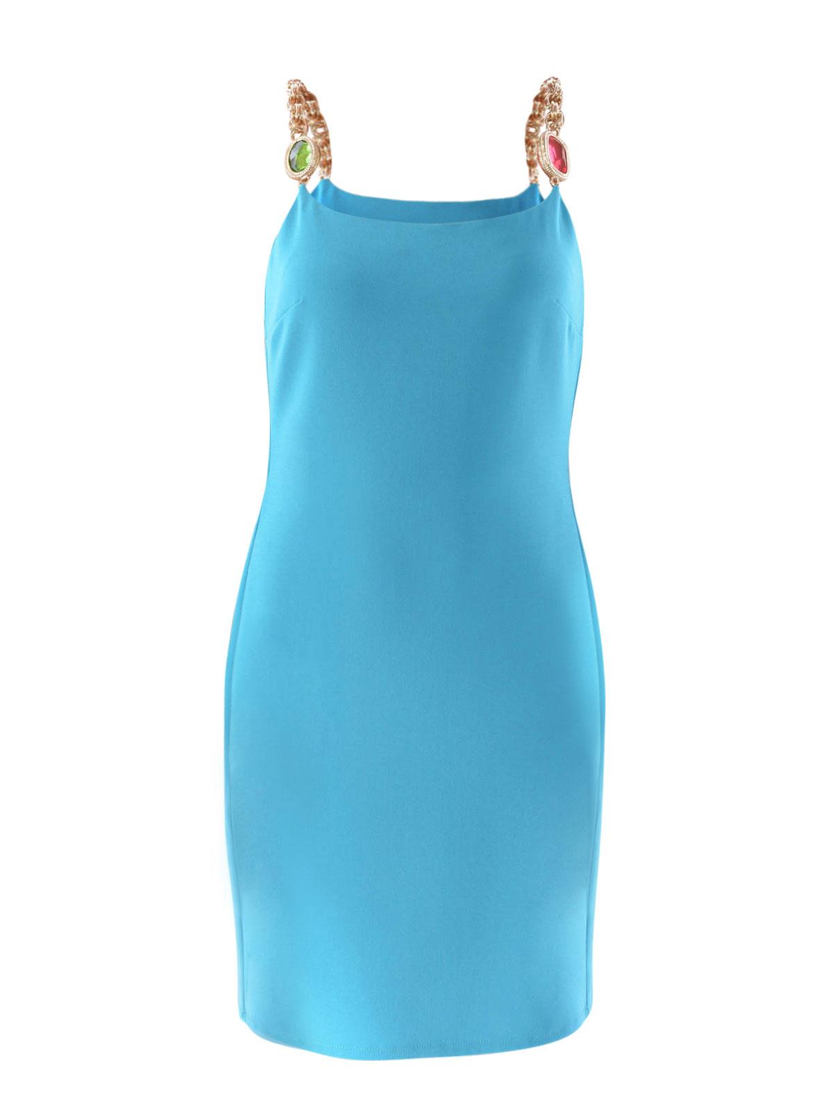 Cocktailkleid - Hellblau von Moschino Boutique - Cocktailkleider | iKRIX