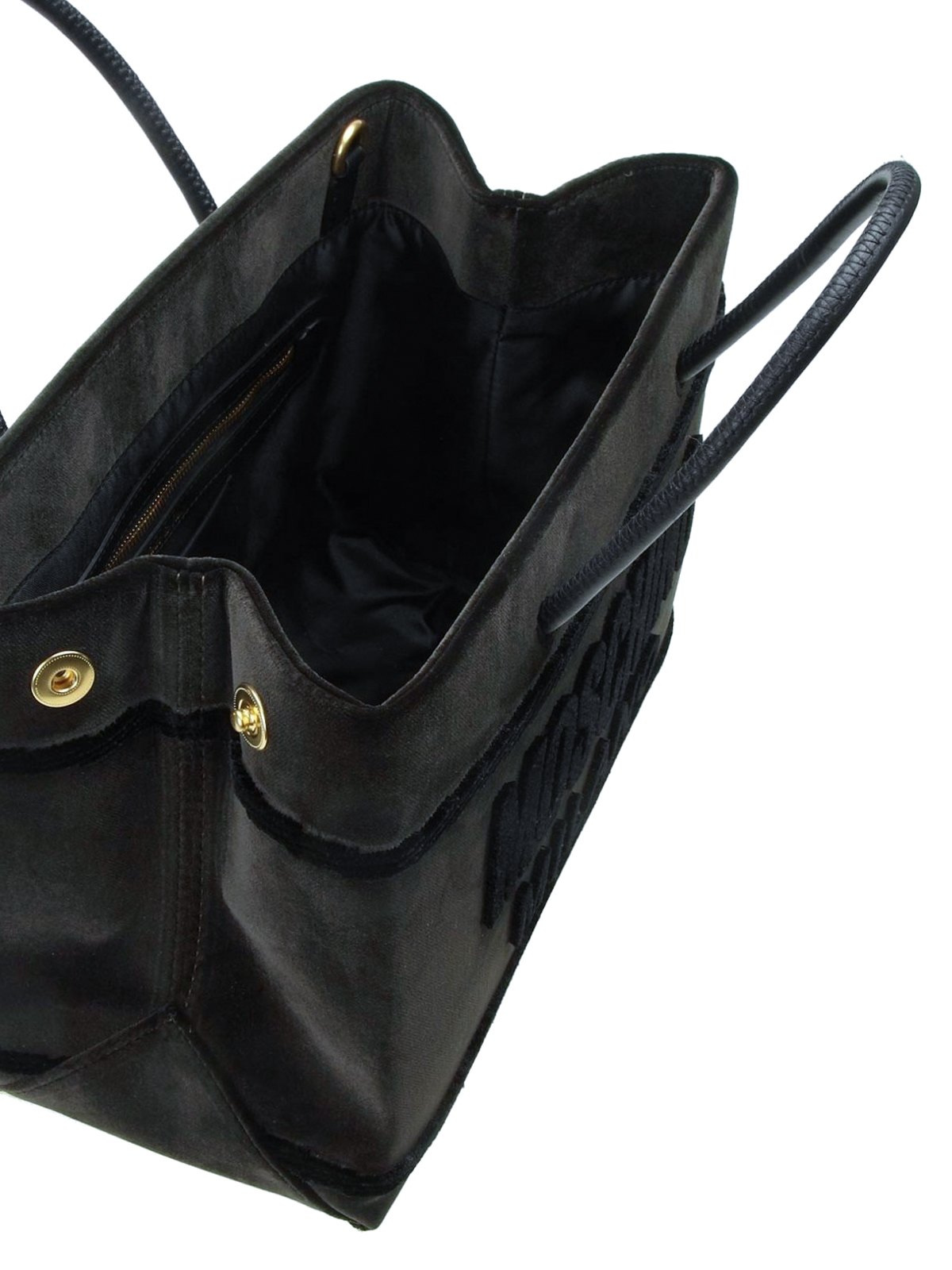 MOSCHINO buy online Musk velvet signature tote. MOSCHINO  totes bags ... d40d233f59856
