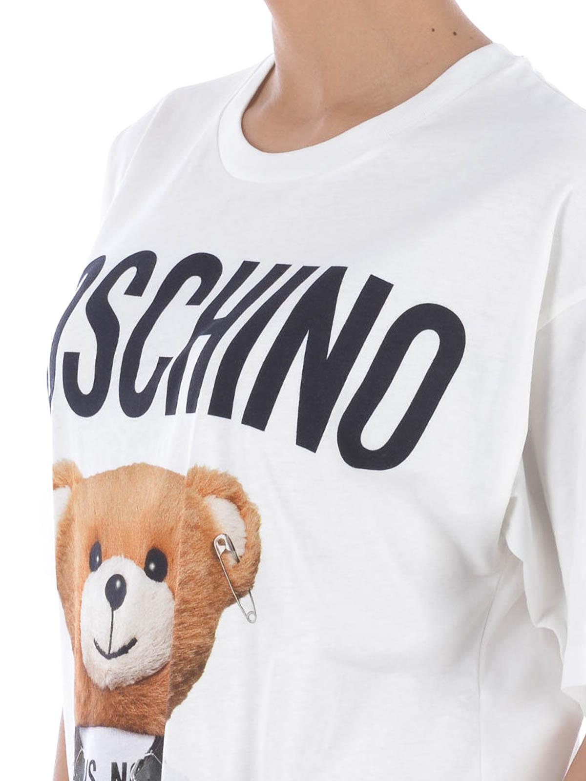 26c693db Moschino - Teddy Bear cotton T-shirt - t-shirts - 0704 5540A1001