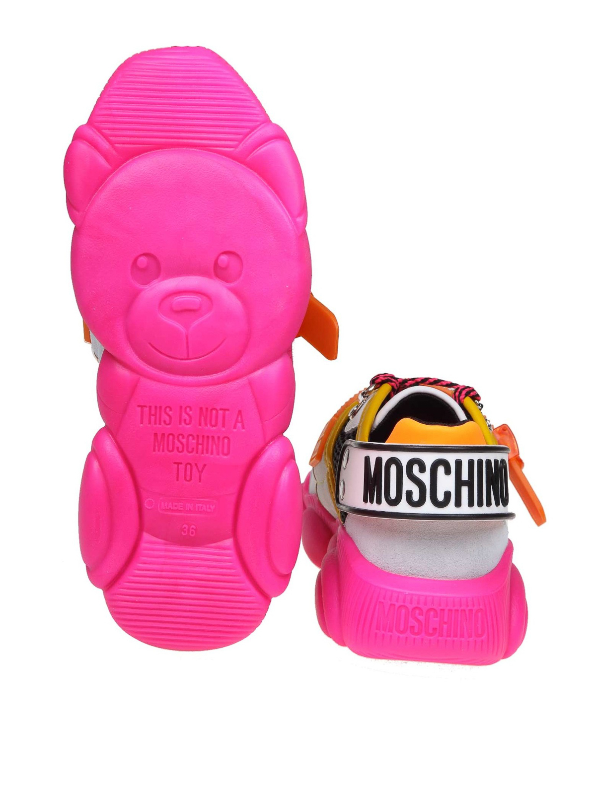 Moschino - Teddy Fluo sneakers - اسپرت
