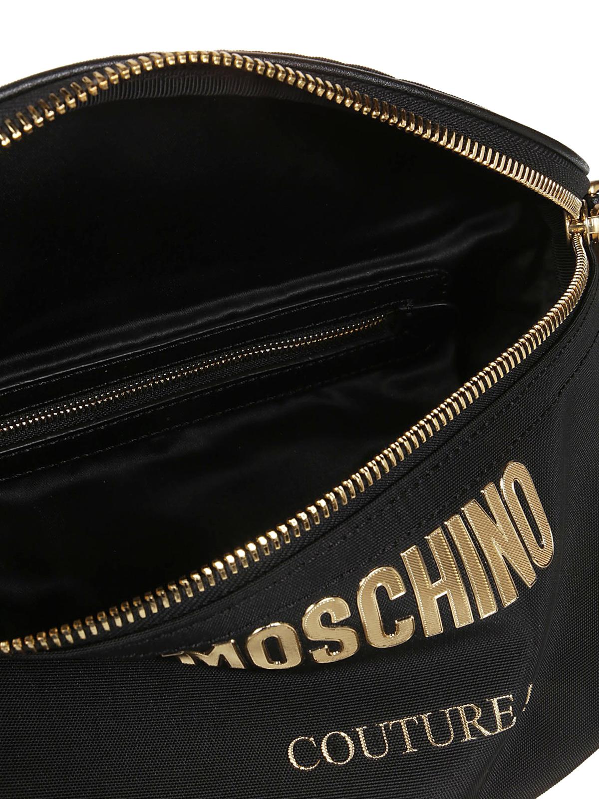 Moschino Marsupio in nylon cordura Moschino Couture