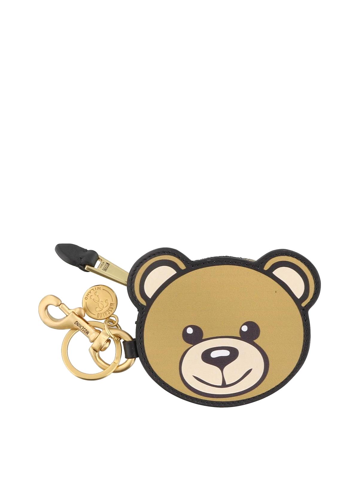 Moschino - Portachiavi e portamonete Teddy Bear - portachiavi ... fe731882e8a
