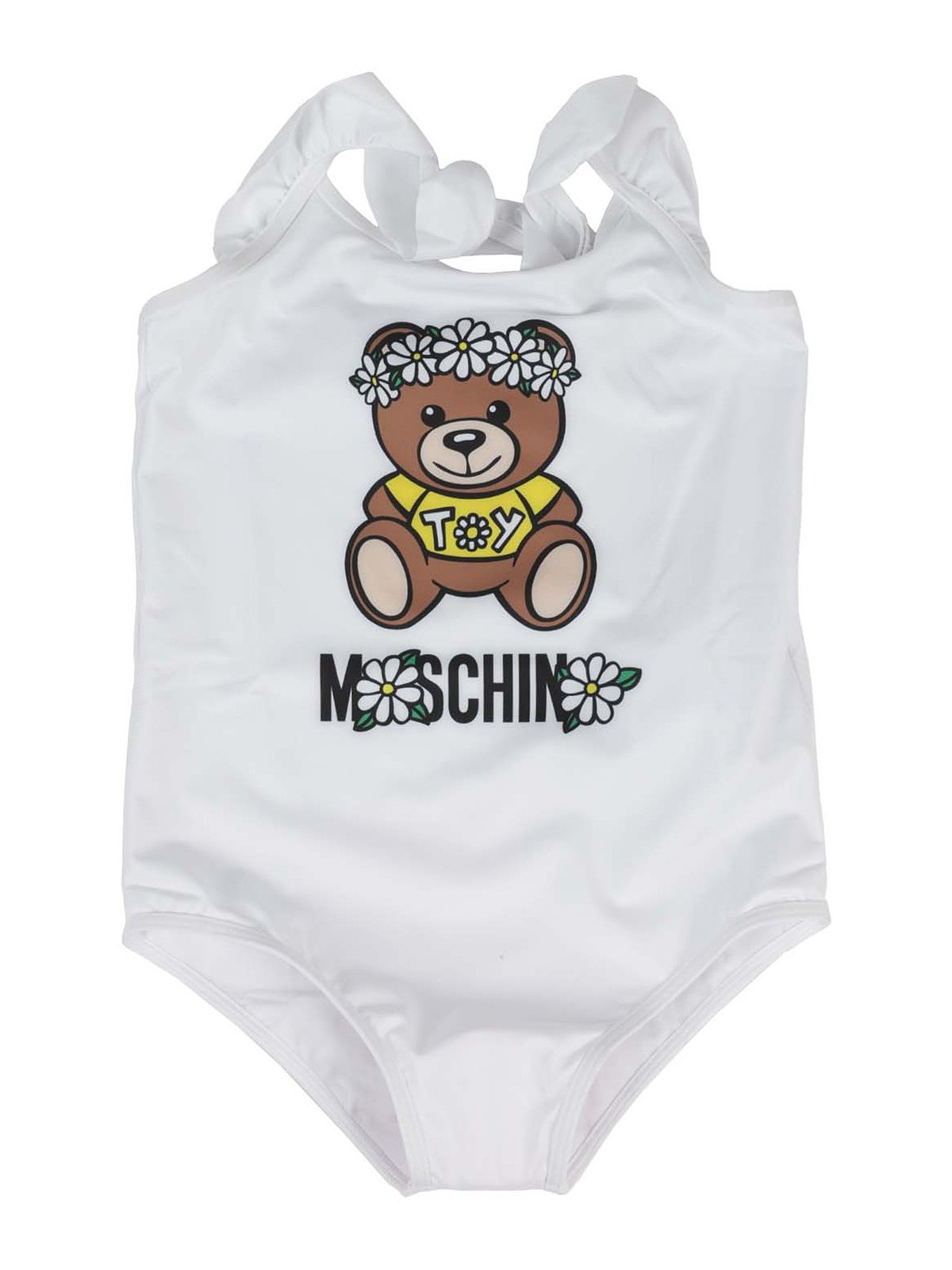Moschino One-pieces DAISY TEDDY BEAR SWIMSUIT