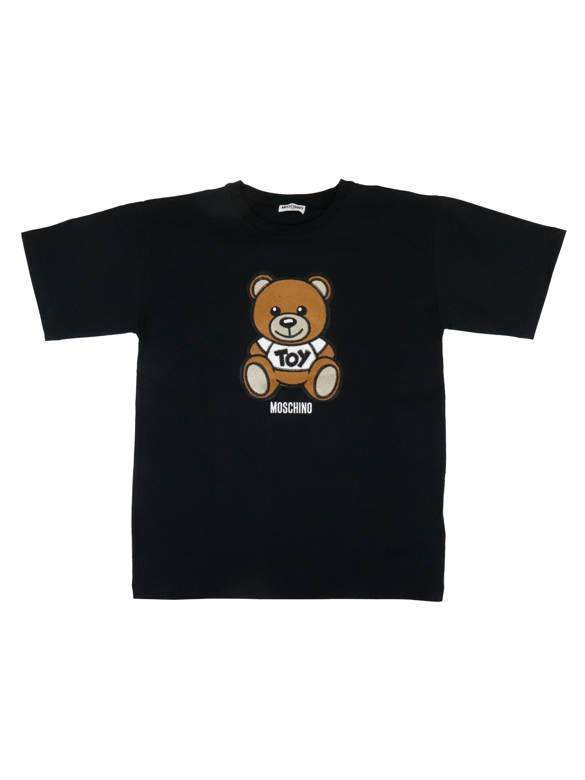 Moschino TEDDY BEAR EMBROIDERY T-SHIRT