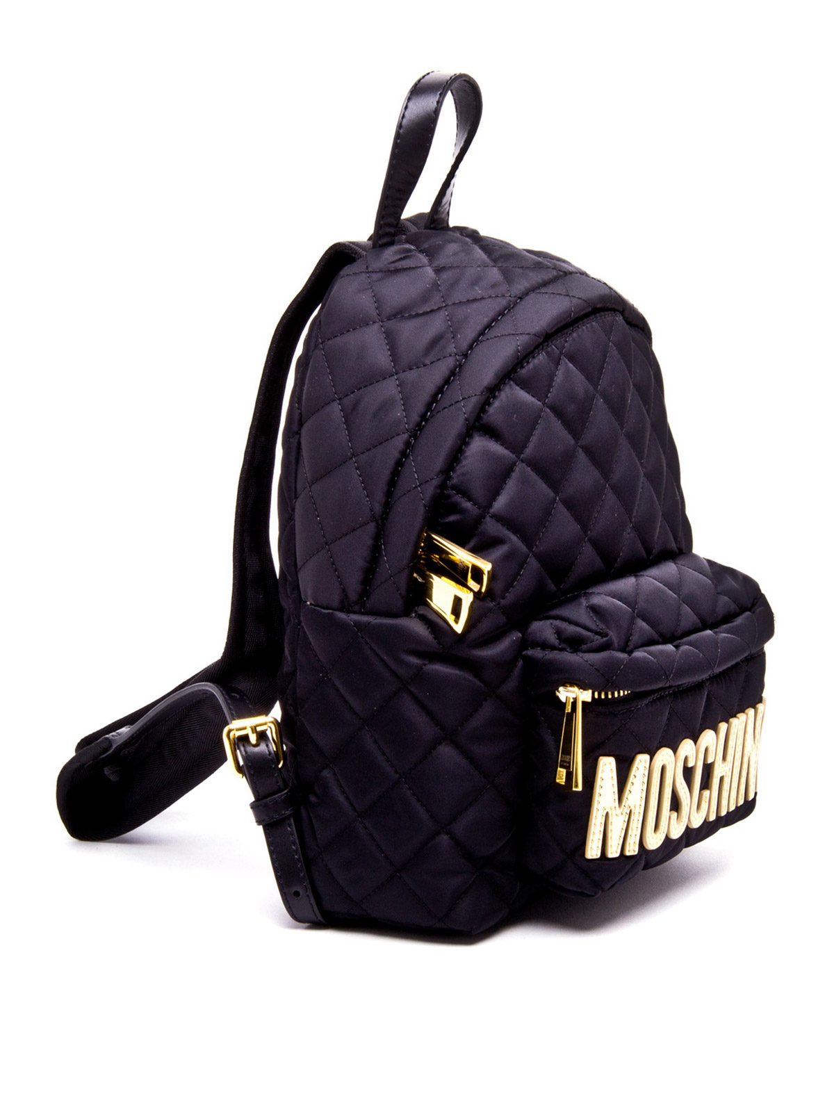 81c60e69bd4f Moschino - Quilted nylon small backpack - backpacks - 760822012555