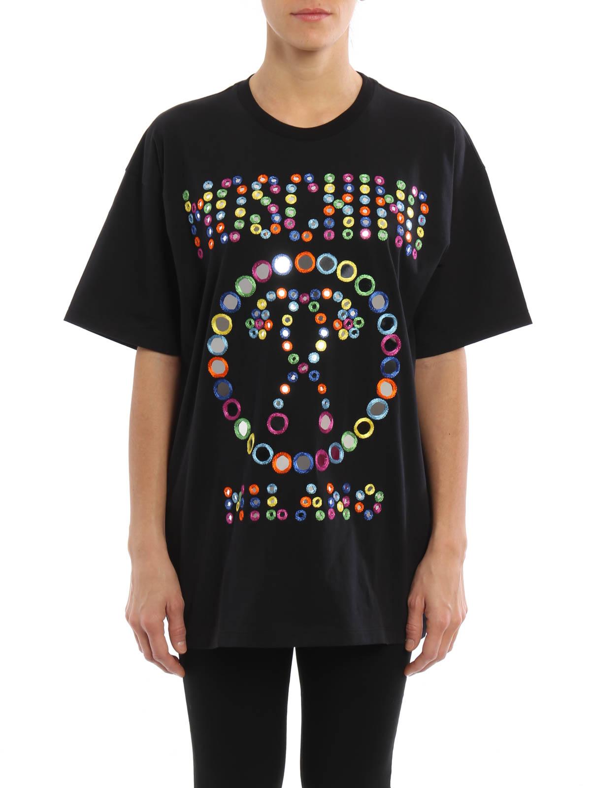 Shirt Con 2555 540 Moschino A0705 Specchietti T Over twFU1