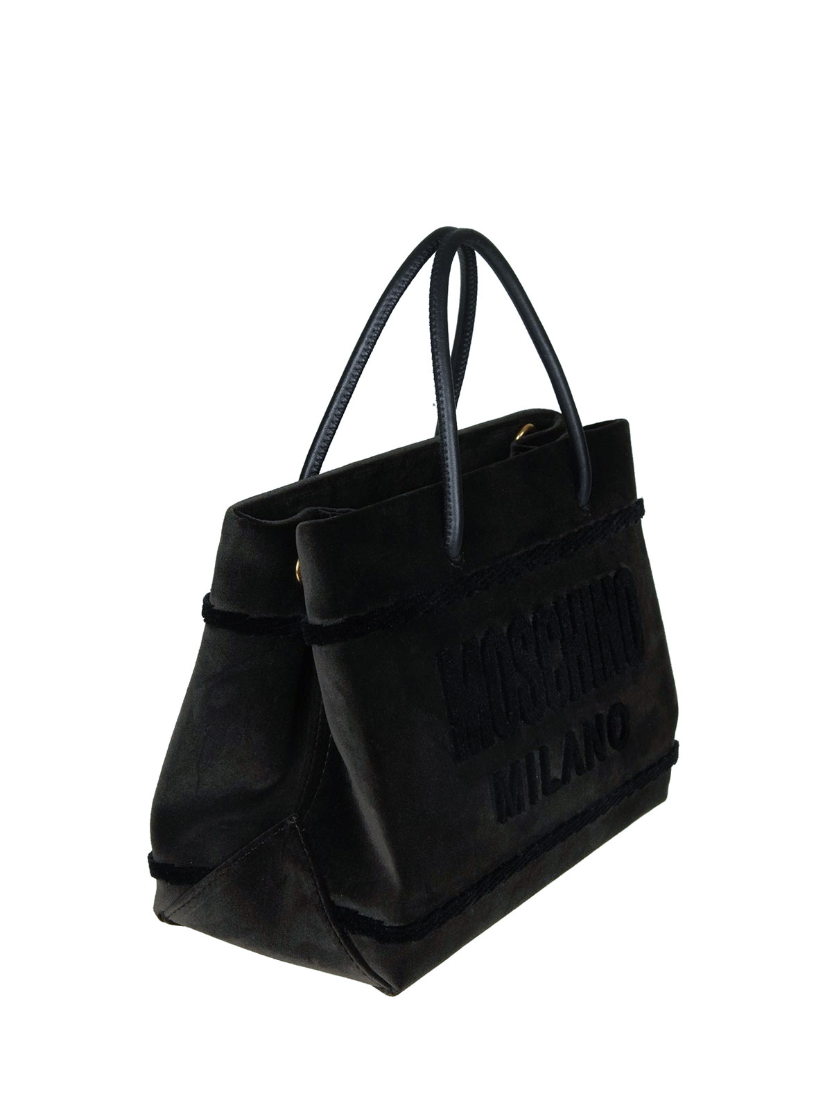 41f4a733dadc Moschino - Musk velvet signature tote - totes bags - A748682113440