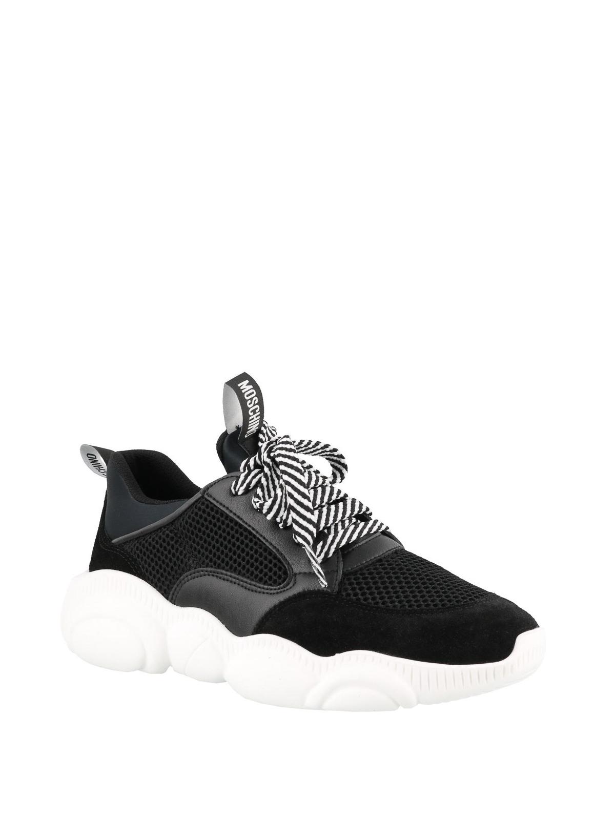 Moschino - Teddy Run black sneakers