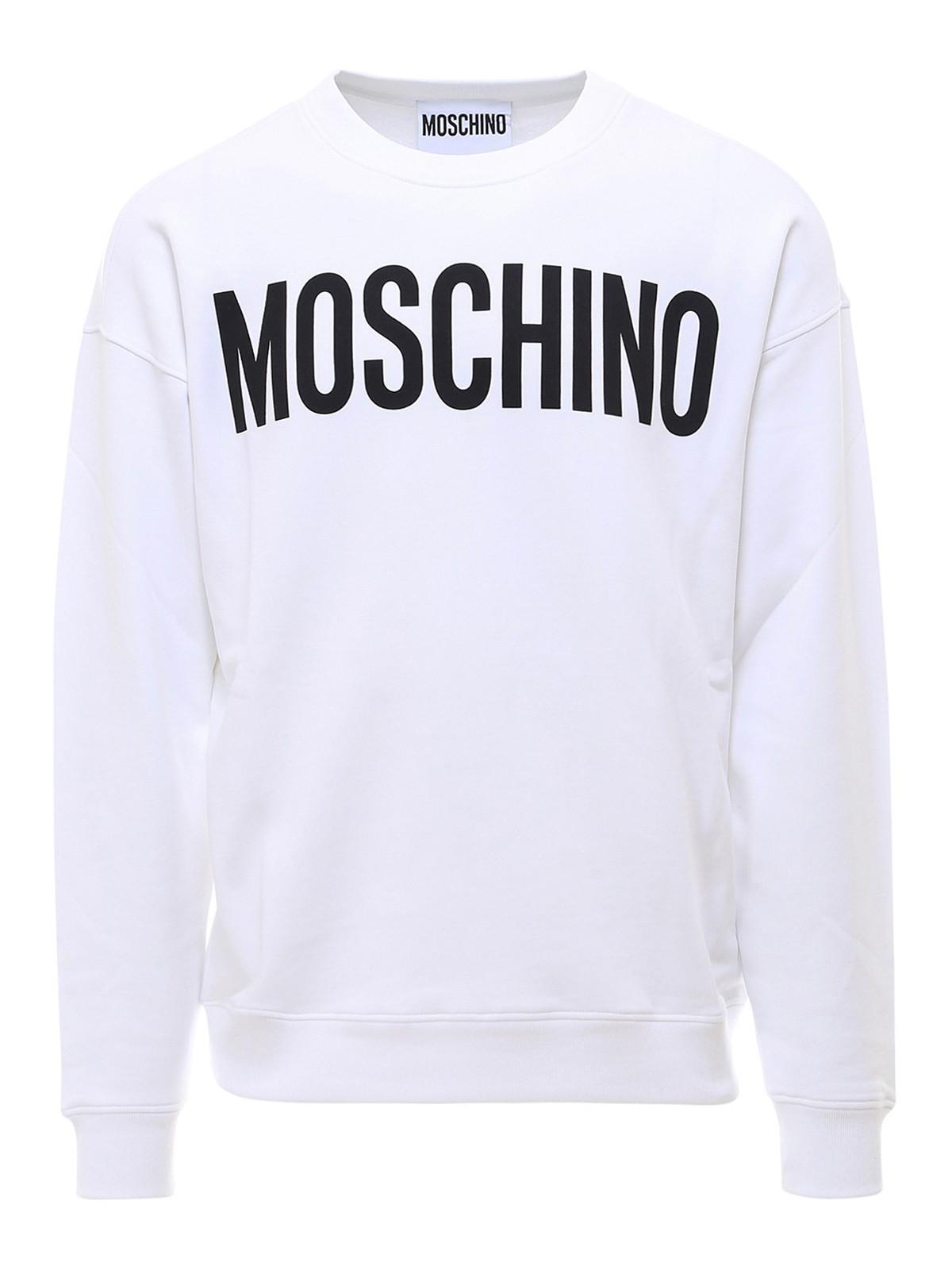 Moschino LOGO LETTERING SWEATSHIRT
