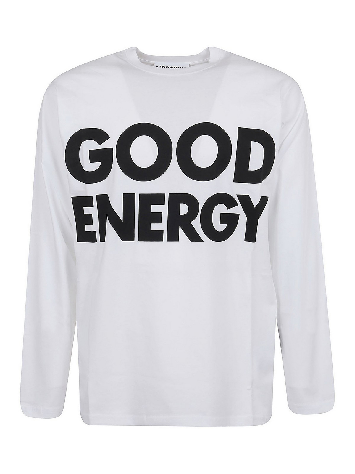 Moschino Cottons GOOD ENERGY LONG SLEEVE T-SHIRT