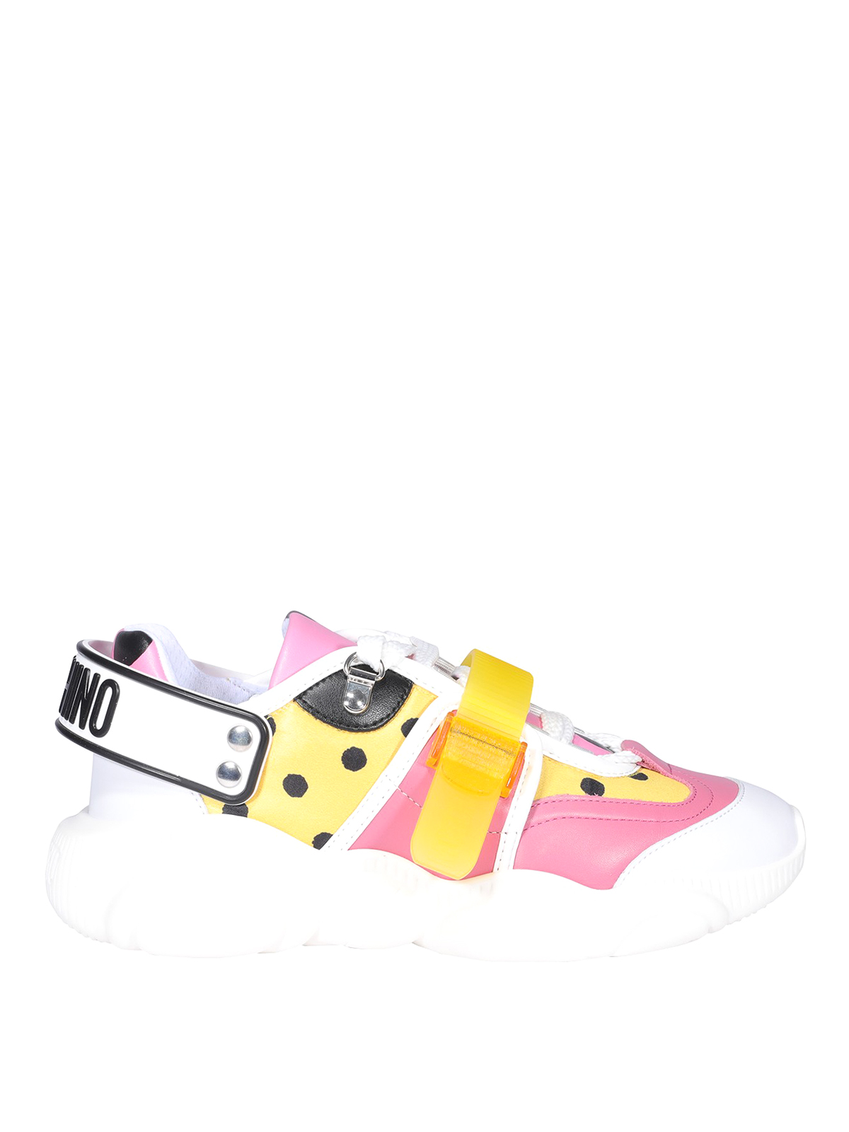 Moschino TEDDY ROLLER SKATES SNEAKERS