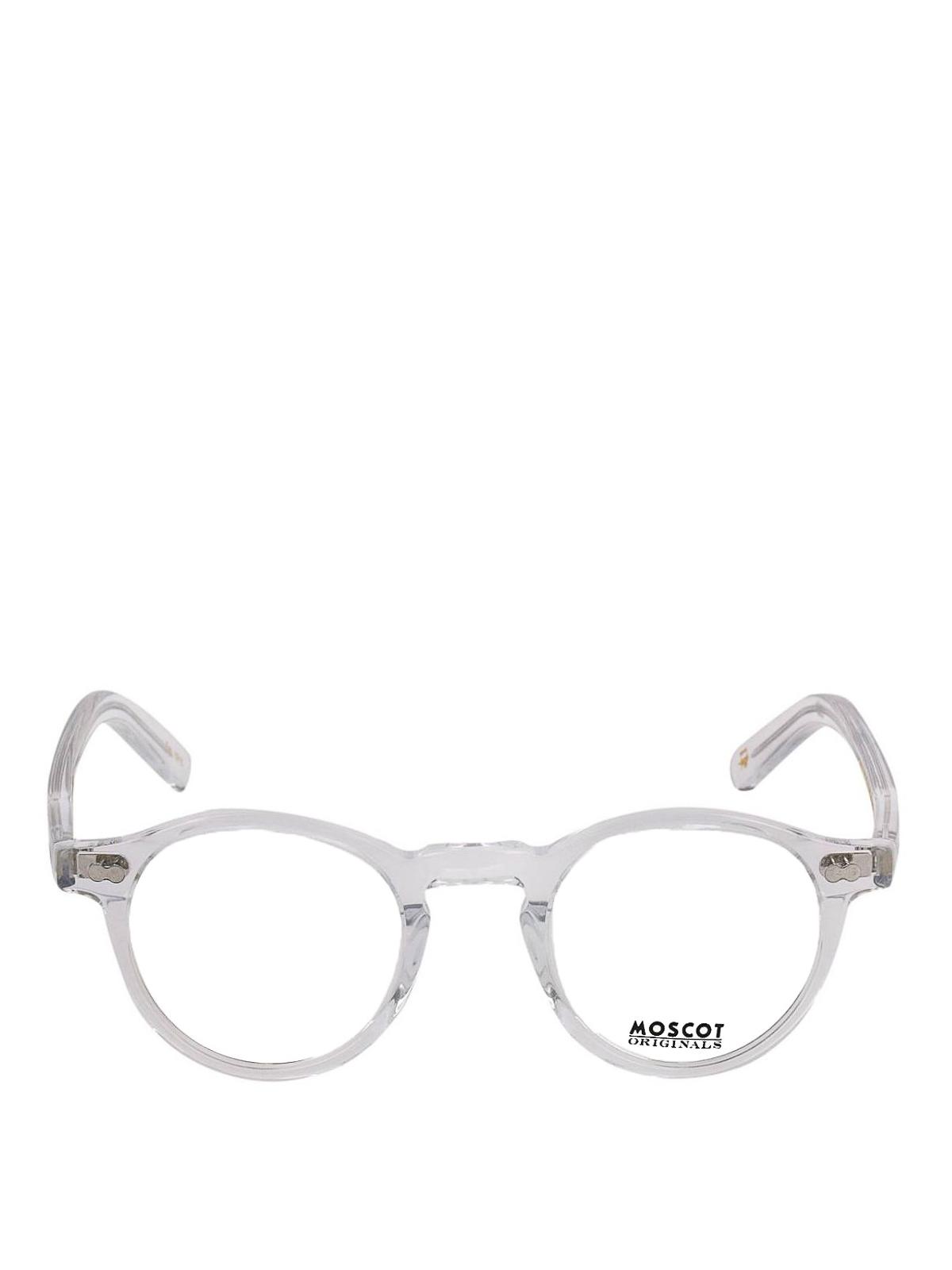 rivenditore online c2492 800ce Moscot - Miltzen crystal round frame eyeglasses - عینک ...