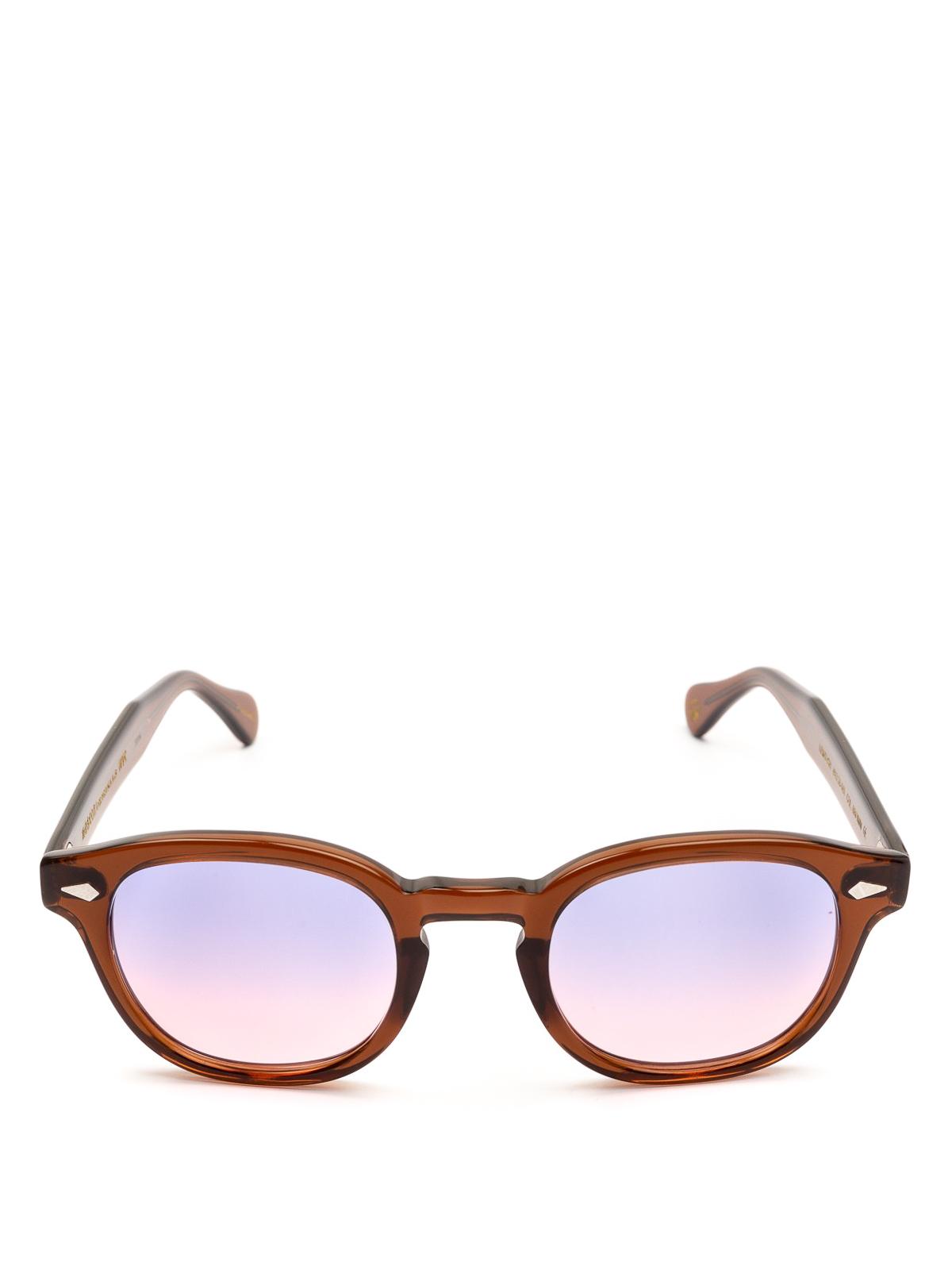 c36822ee0b8 MOSCOT  sunglasses online - Lemtosh purple pink lens brown sunglasses