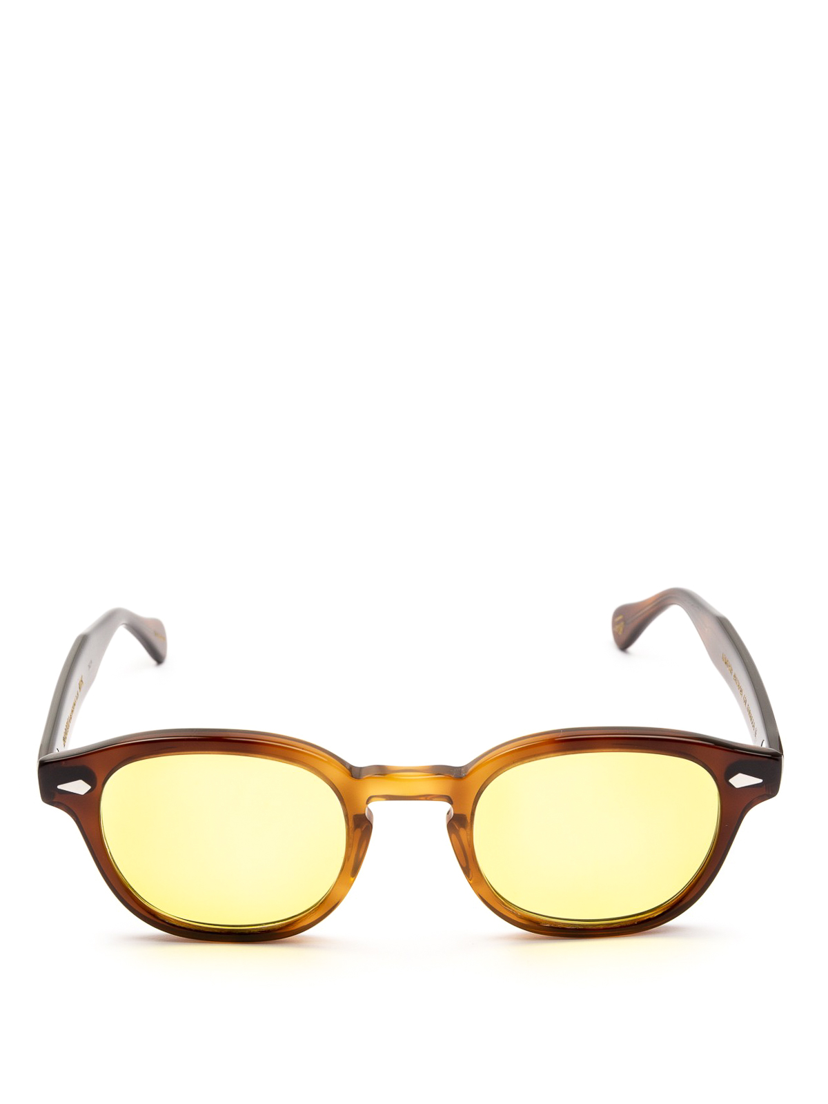cf40ee38d19 MOSCOT  sunglasses online - Lemtosh yellow lens tobacco sunglasses