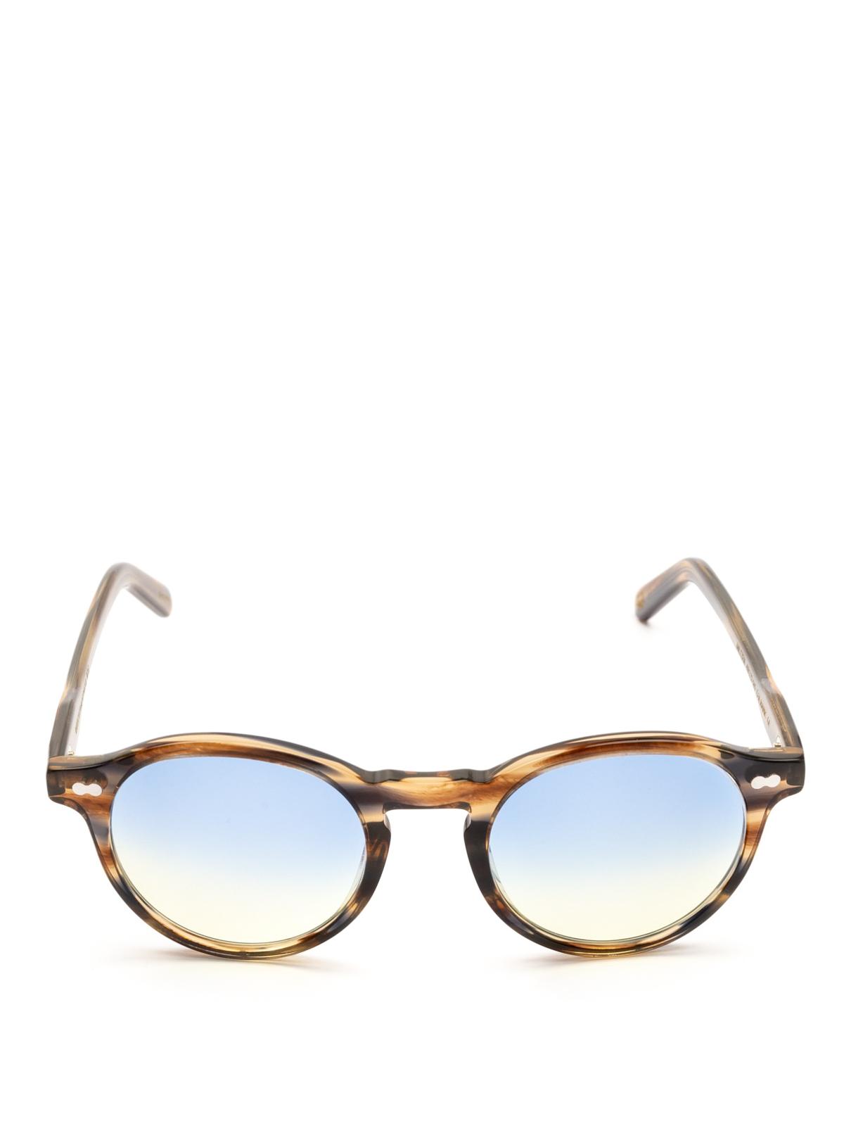Lens en Gafas Amarillo Azul sol de Moscot Bark línea Miltzen wO8qnt6