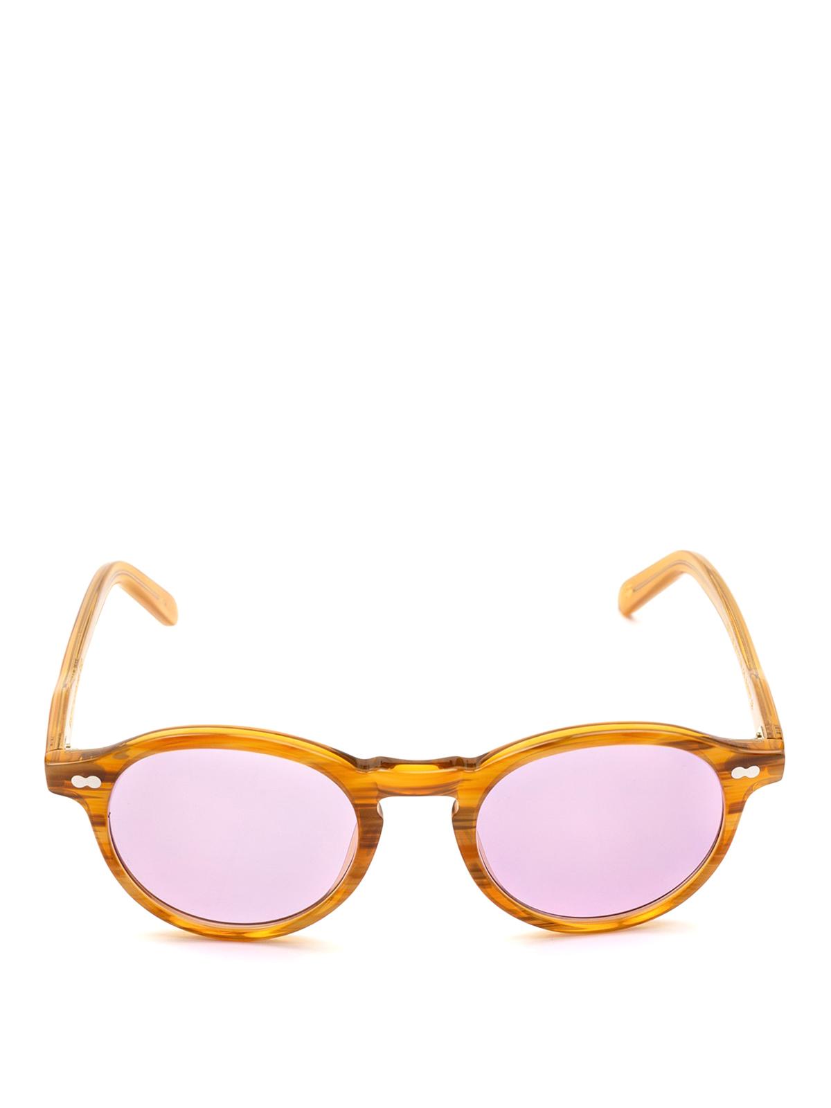 ba6f22f44b8 MOSCOT  sunglasses online - Miltzen violet lens blonde sunglasses