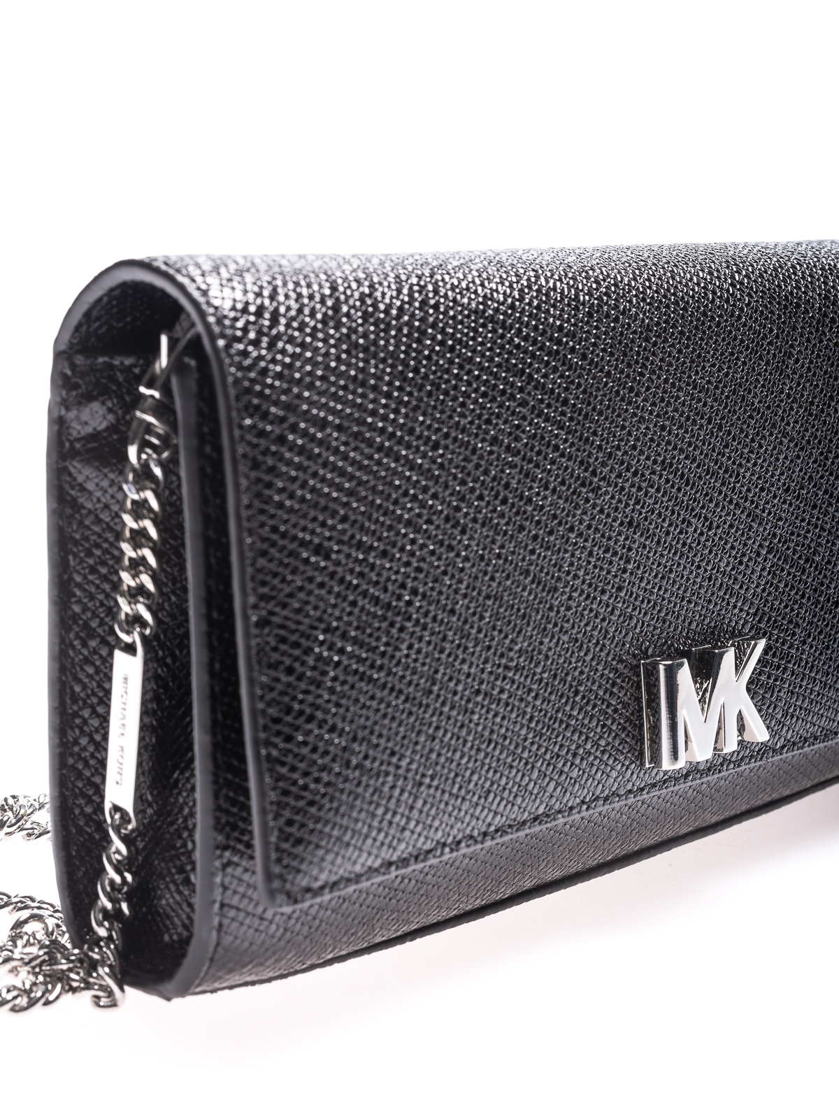 100% authentisch neueste Kollektion helle n Farbe Michael Kors - Mott grainy leather envelope clutch ...