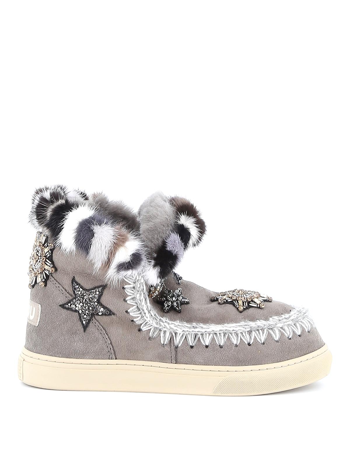 Mou - Eskimo Sneaker Star Patches fur