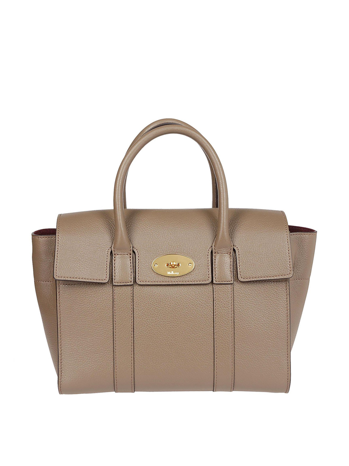 b8f9ae1b829d Mulberry - Small Bayswater clay grain leather bag - bowling bags ...