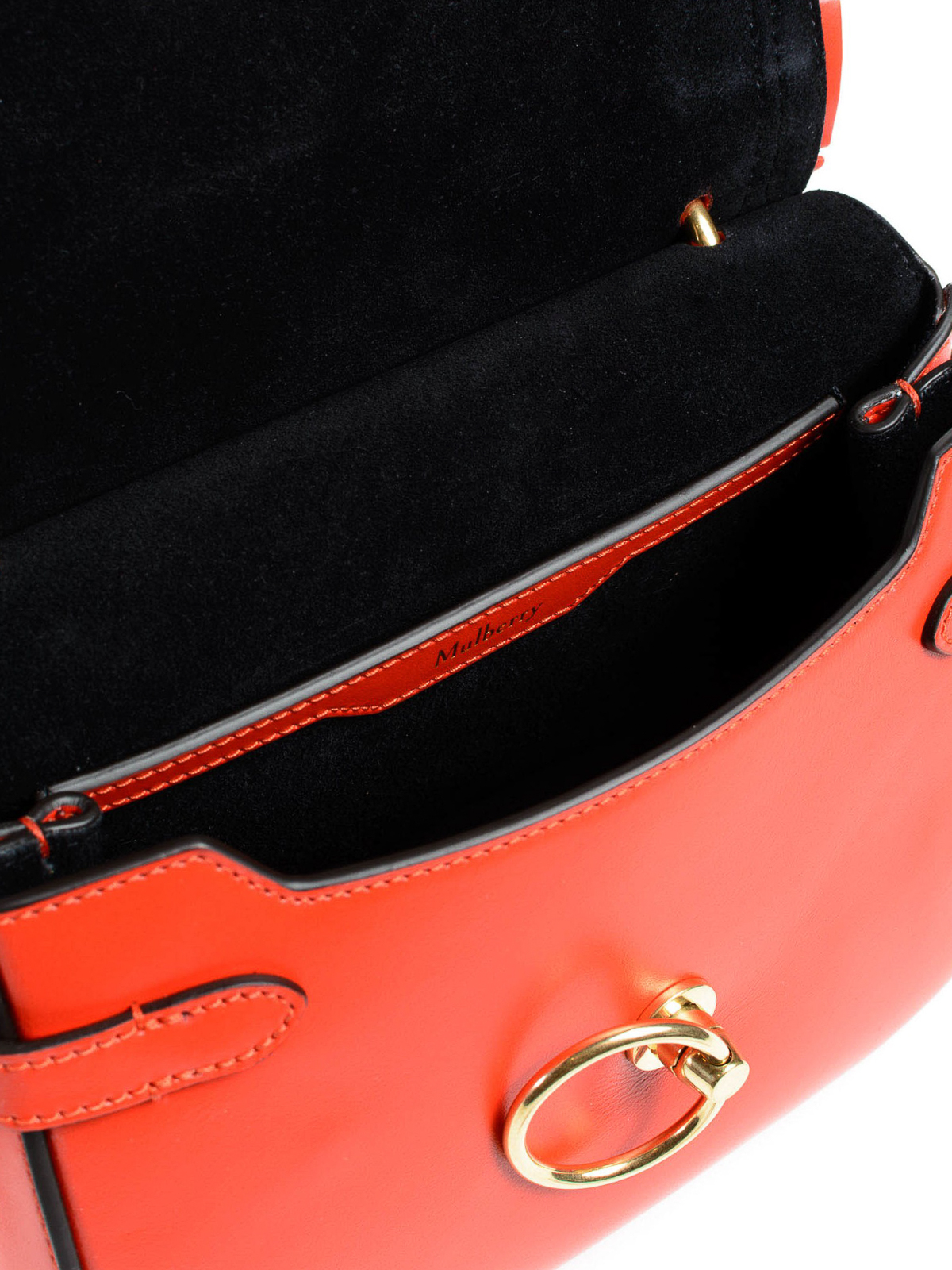 98ffd3239019 Mulberry - Amberley red leather small saddle bag - cross body bags ...