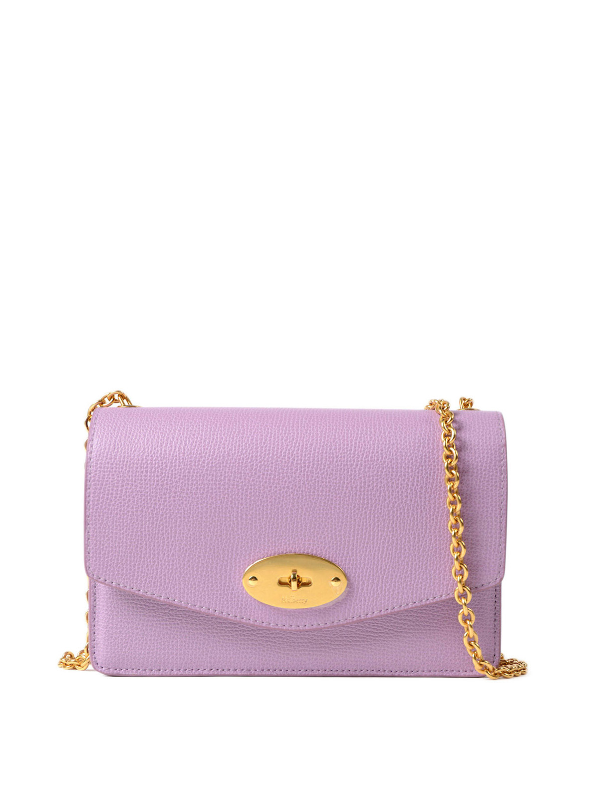 Mulberry - Darley lilac leather small clutch - clutches - RL5270690V110 9772379962781