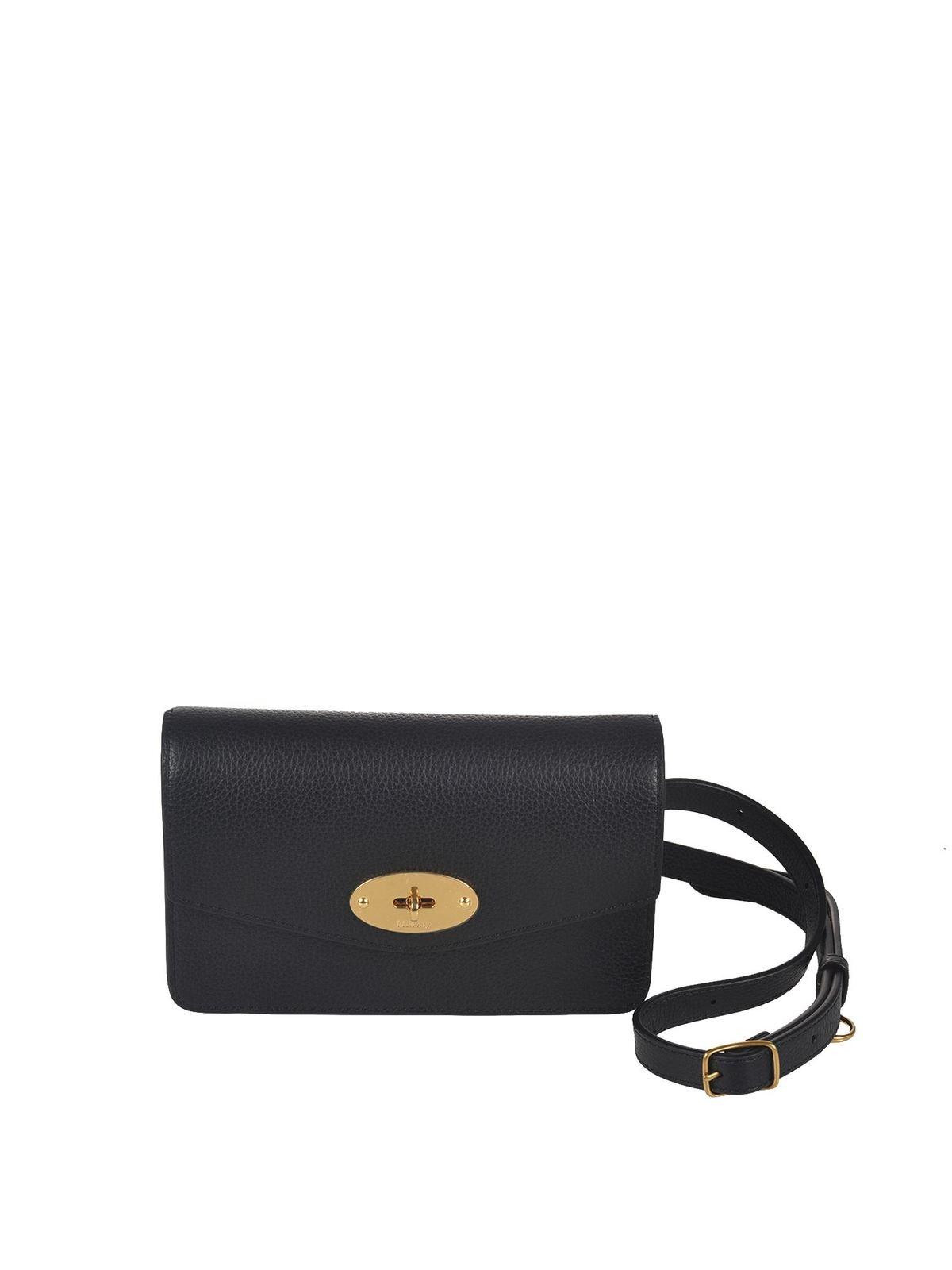 Mulberry DARLEY BELT BAG IN BLACK