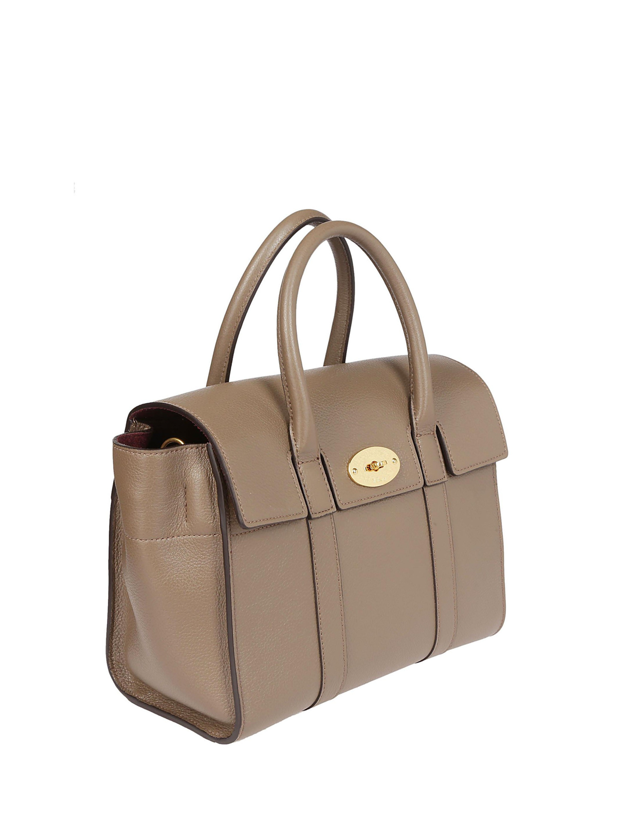0186d3e9da4d MULBERRY  bowling bags online - Small Bayswater clay grain leather bag