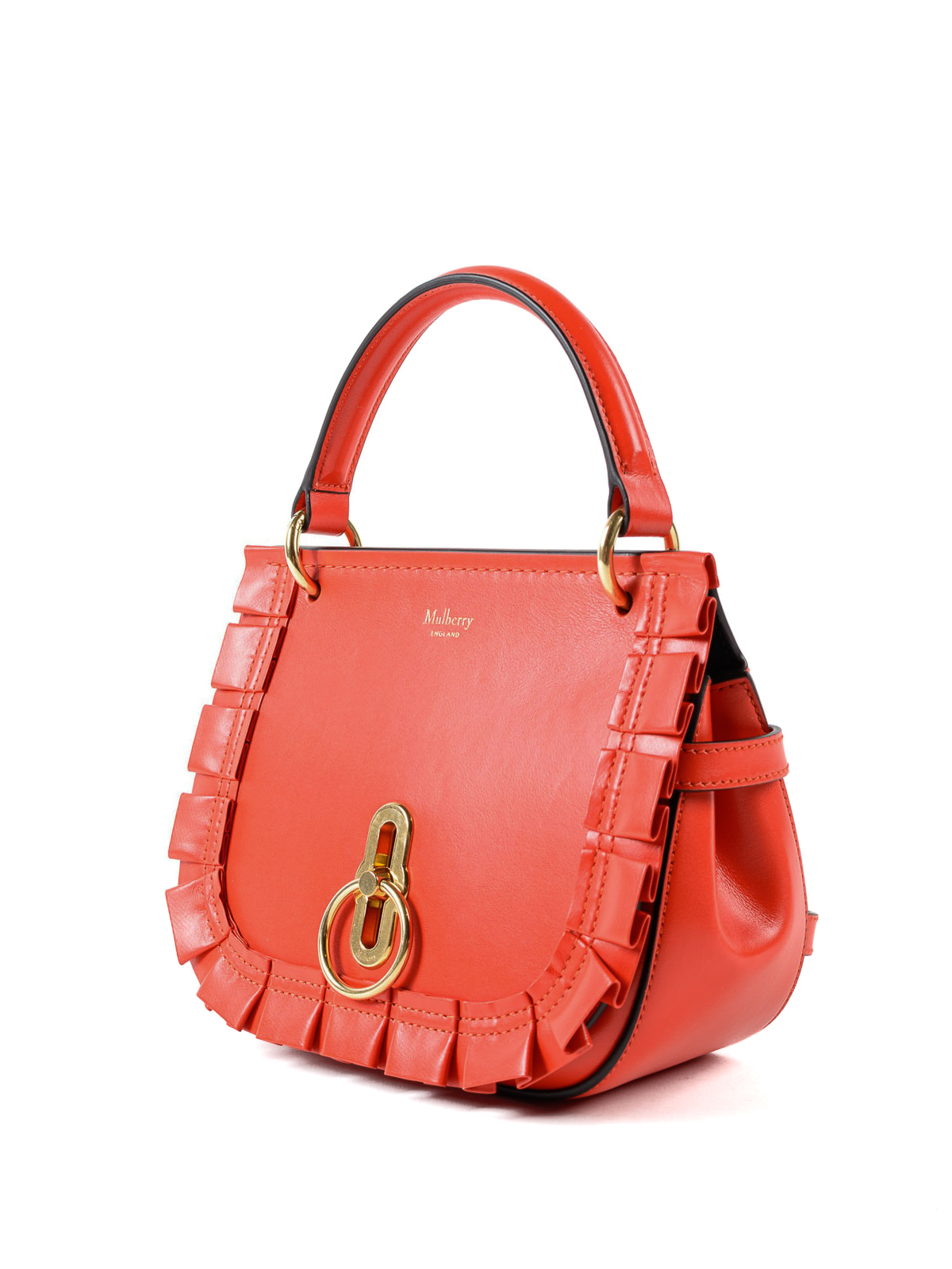 66ce559b4e ... clearance mulberry cross body bags online amberley red leather small  saddle bag 0619e 83596 ...