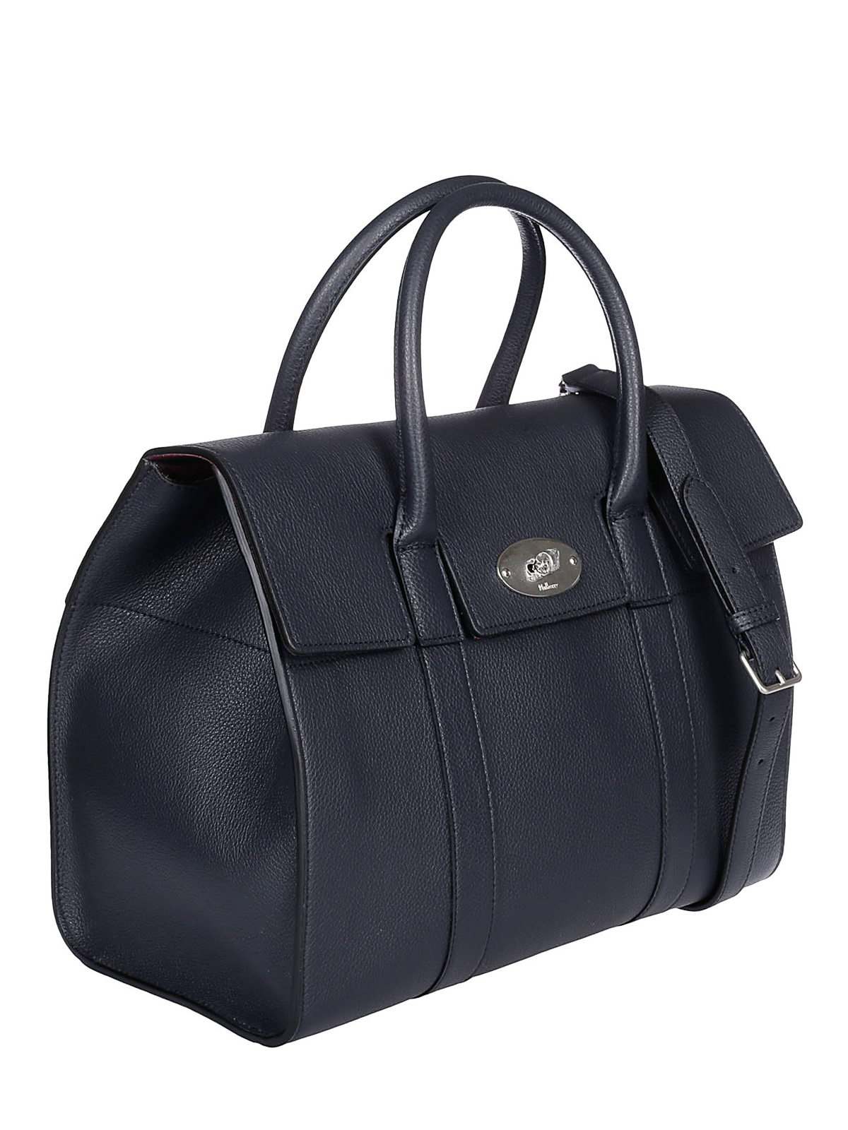 5c752d1116 MULBERRY: totes bags online - Bayswater midnight blue leather tote