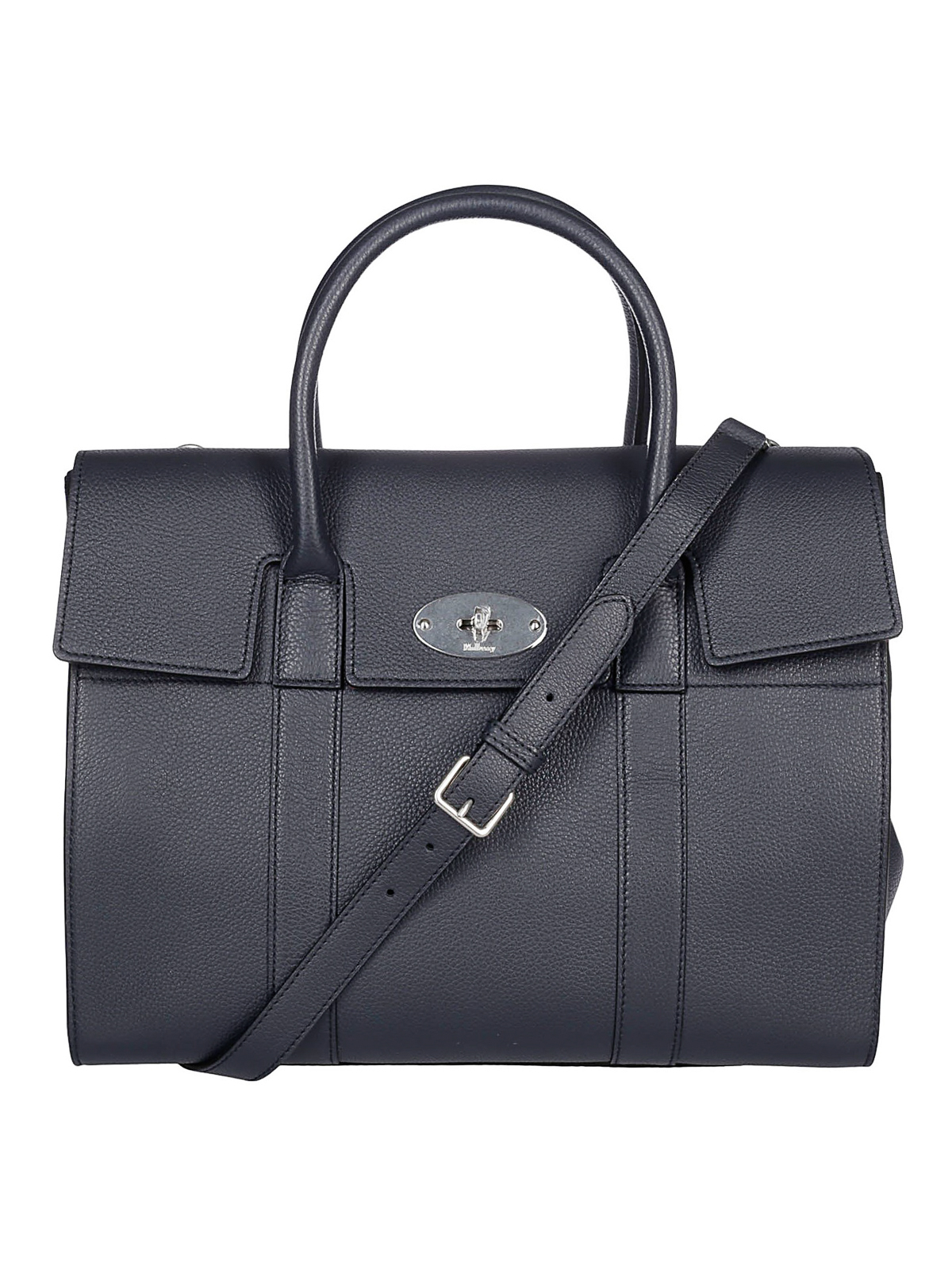 4c2686e9b2 Mulberry - Bayswater midnight blue leather tote - totes bags ...