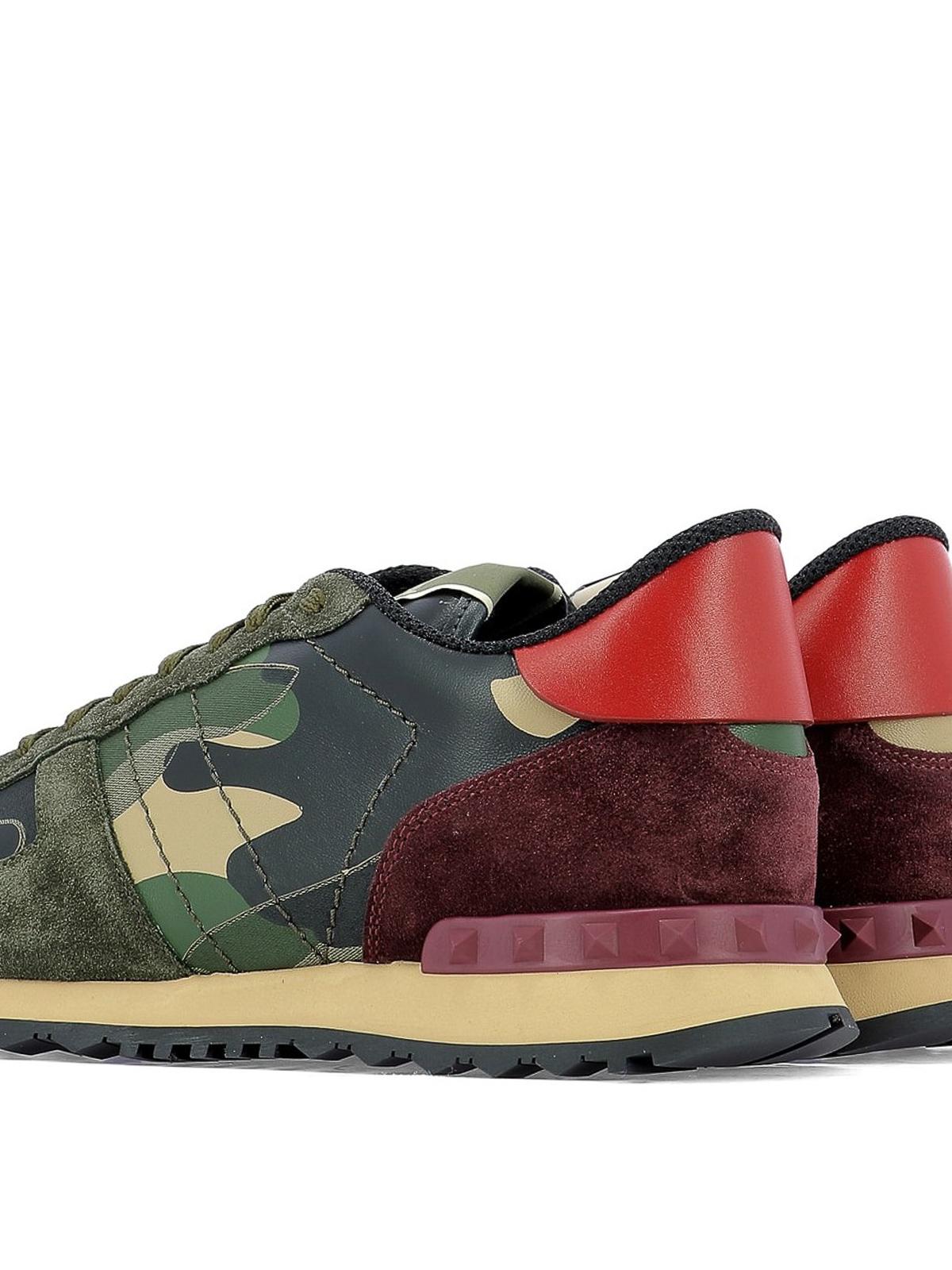 1dadaa2d8a59c Multicolour Rockrunner Camouflage sneakers shop online: VALENTINO GARAVANI